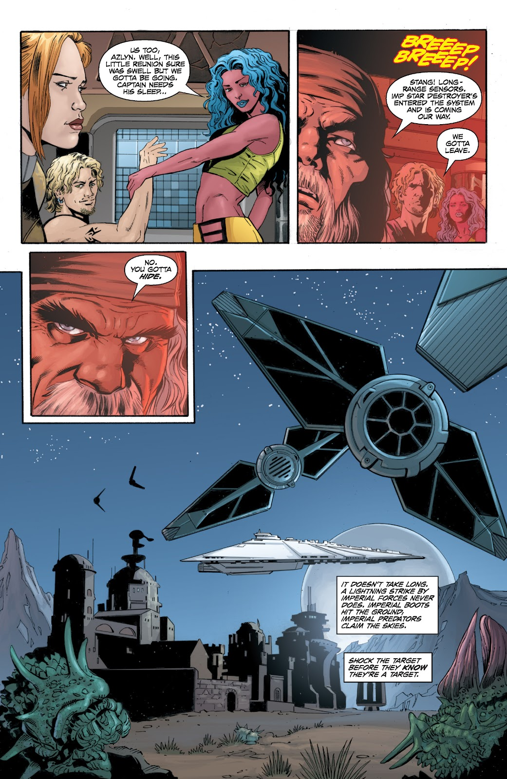Read online Star Wars Legends: Legacy - Epic Collection comic -  Issue # TPB 2 (Part 2) - 42