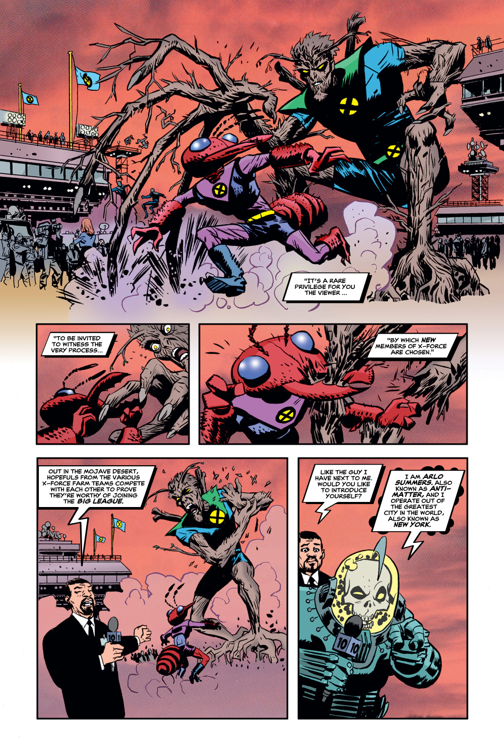 Read online X-Force (1991) comic -  Issue #129 - 12