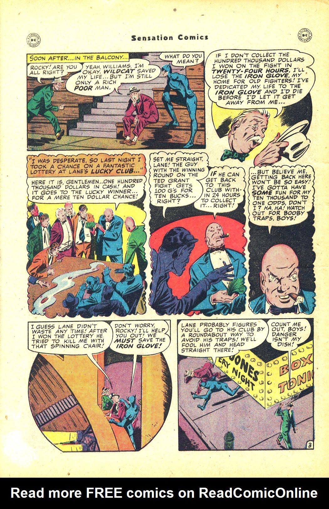 Read online Sensation (Mystery) Comics comic -  Issue #81 - 46