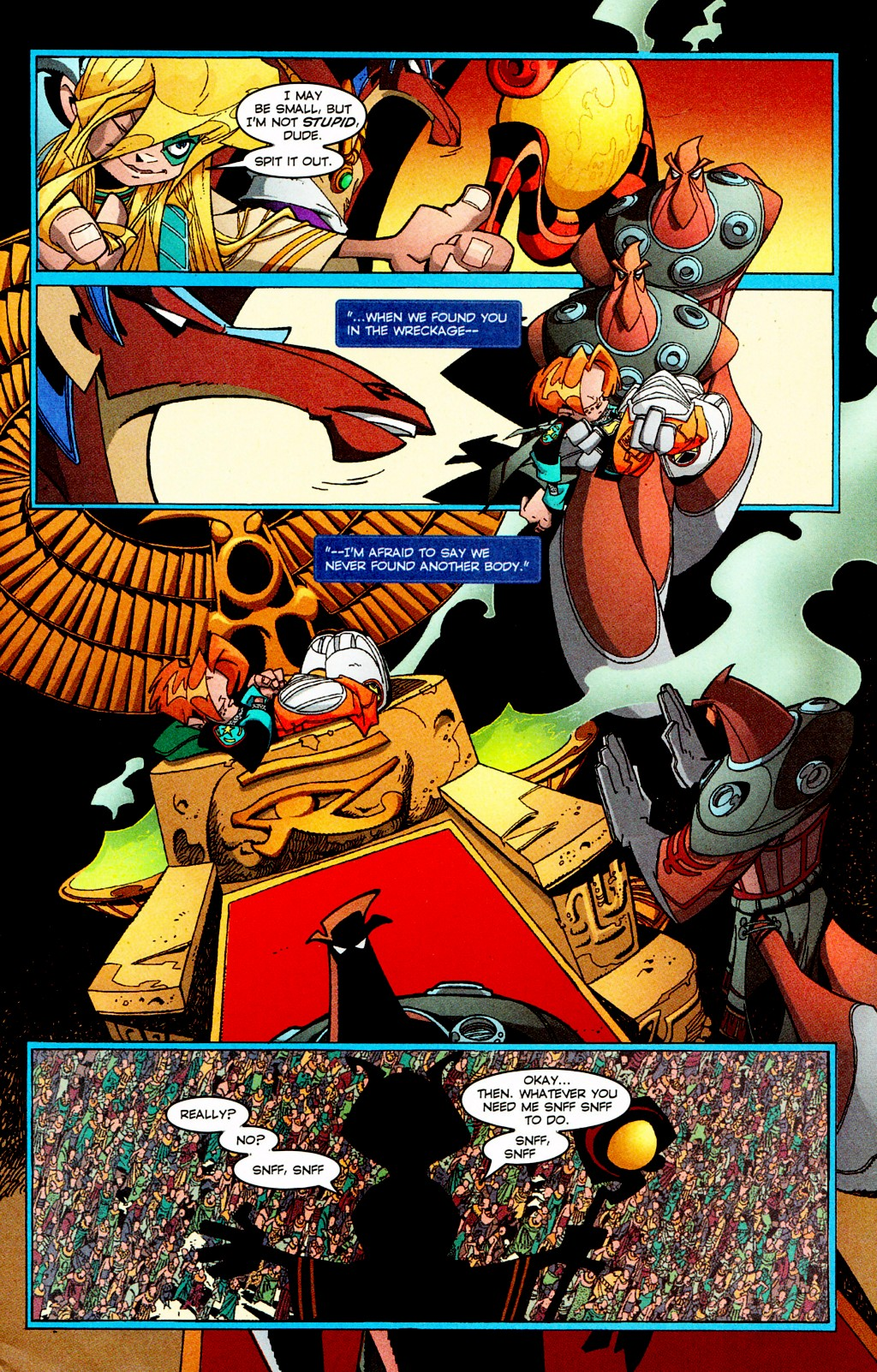 Read online Monster World (Existed) comic -  Issue #3 - 5