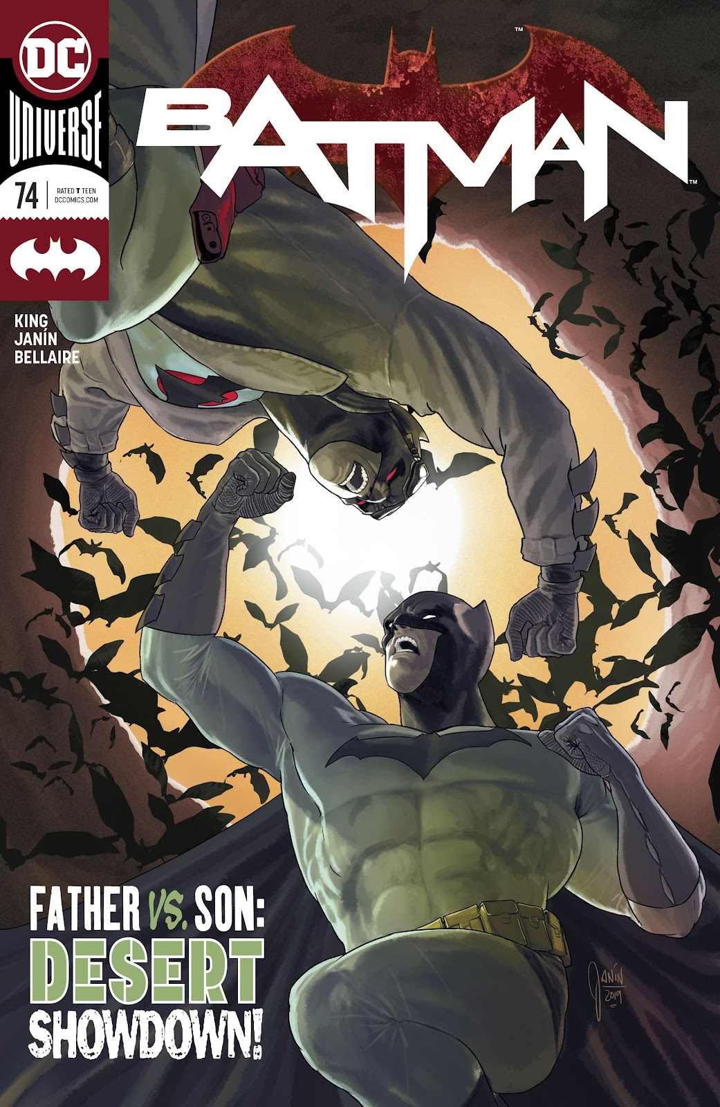 Batman (2016) issue 74 - Page 1