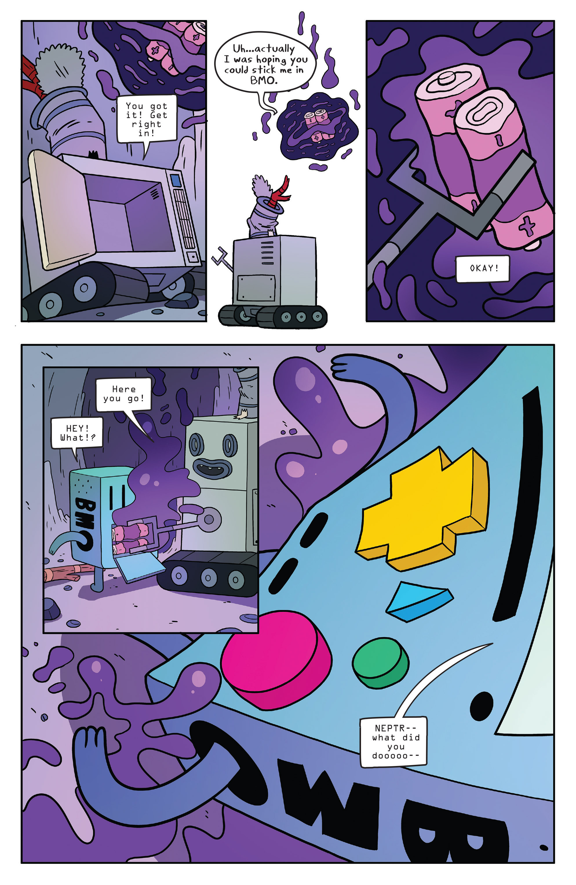 Read online Adventure Time comic -  Issue #56 - 21