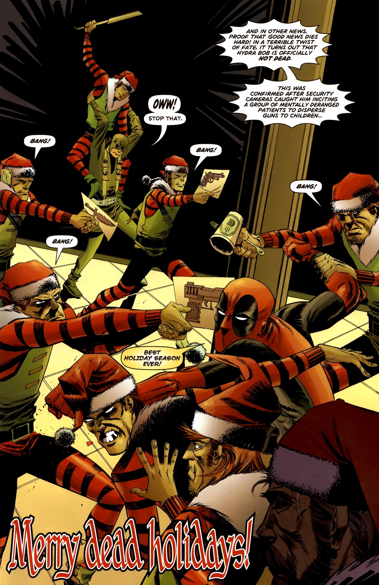 Read online Deadpool MAX X-Mas Special comic -  Issue # Full - 32