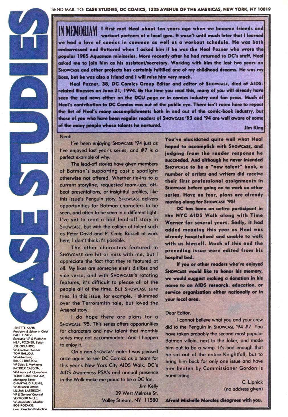 Read online Showcase '94 comic -  Issue #11 - 40