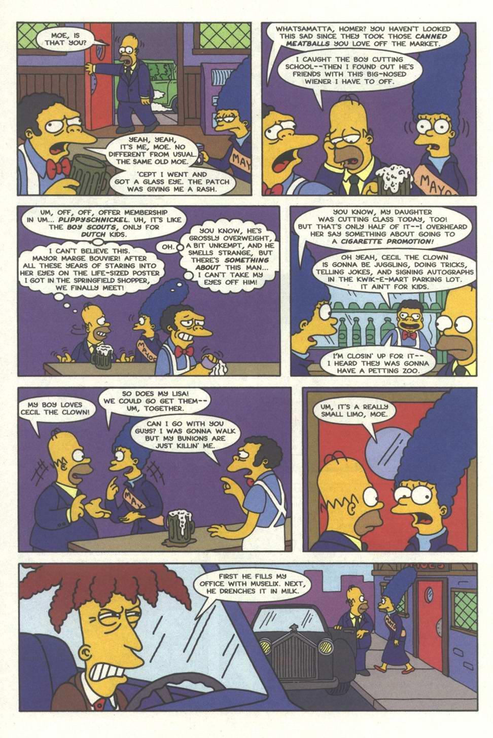Read online Simpsons Comics comic -  Issue #33 - 19