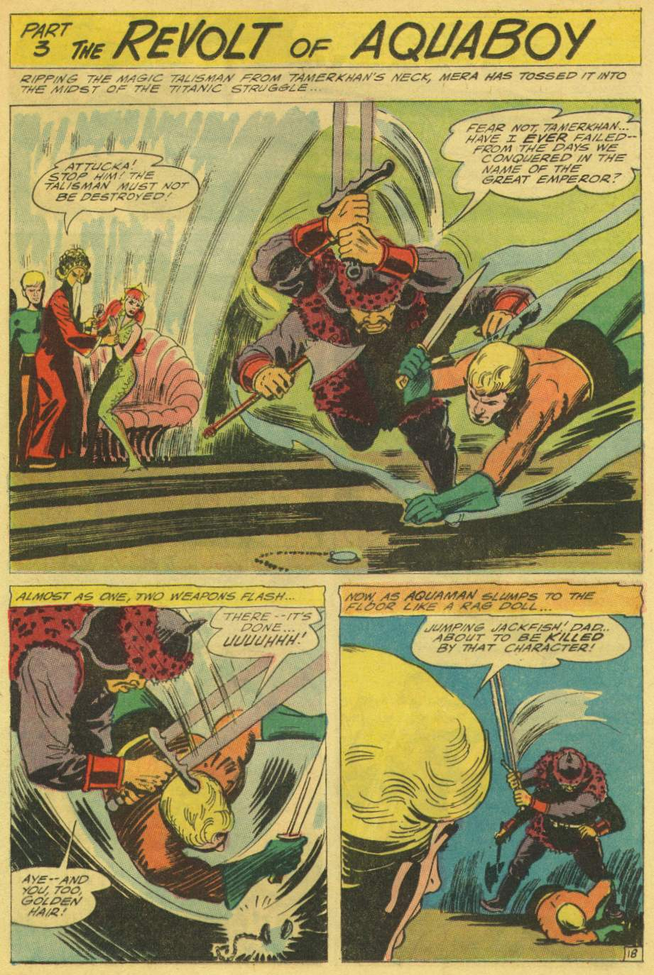 Read online Aquaman (1962) comic -  Issue #25 - 25