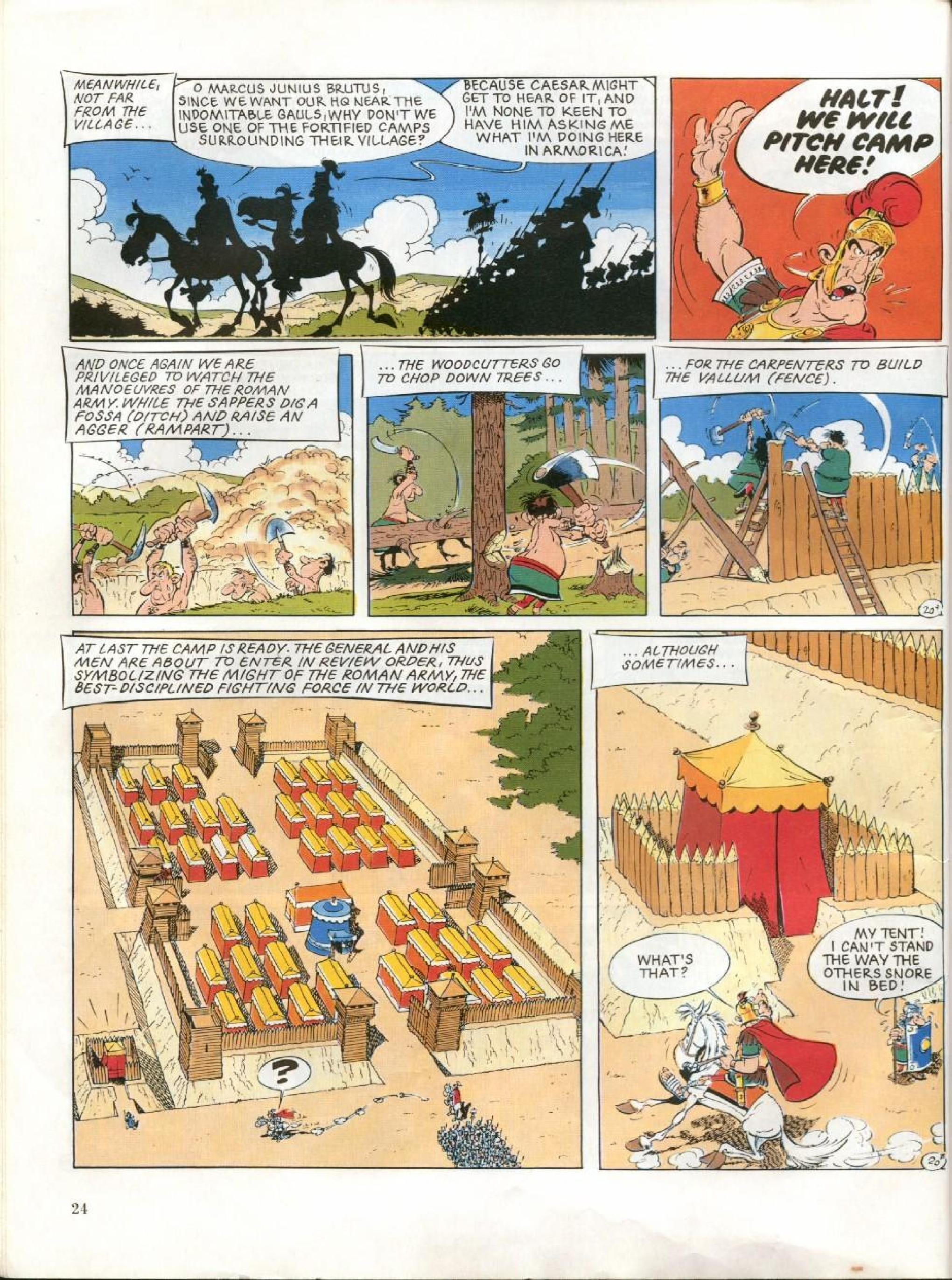 Read online Asterix comic -  Issue #27 - 21