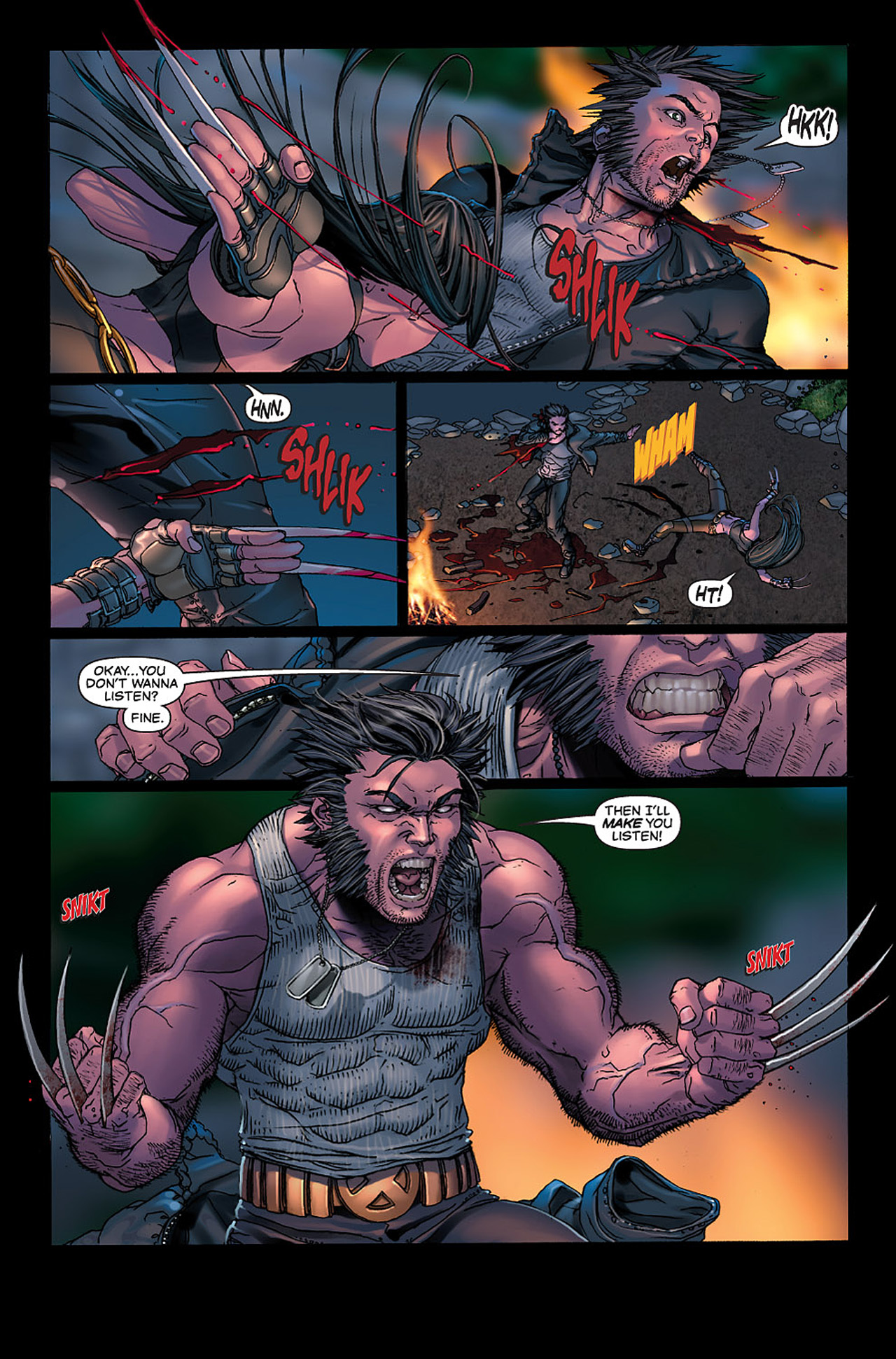 Read online X-23: Target X comic -  Issue #6 - 8