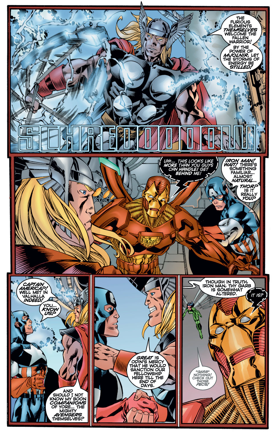 Read online Avengers (1996) comic -  Issue #10 - 3