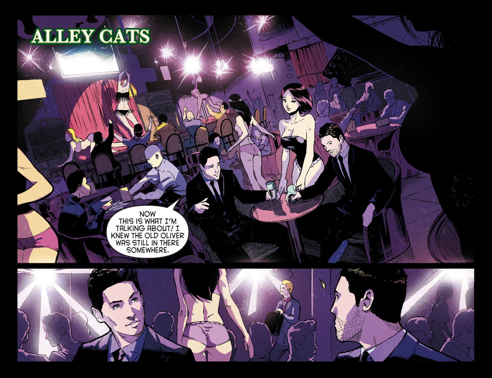 Read online Arrow [II] comic -  Issue #7 - 13