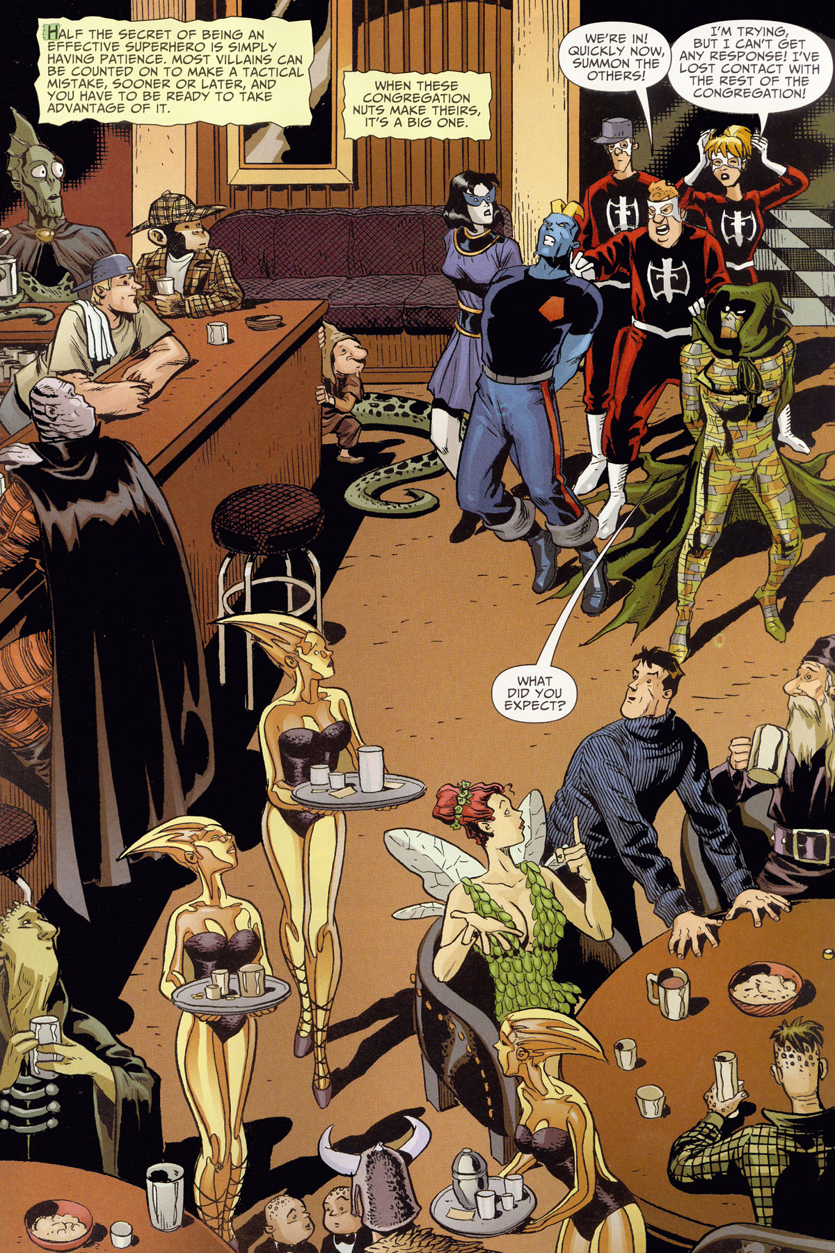 Read online Shadowpact comic -  Issue #8 - 19