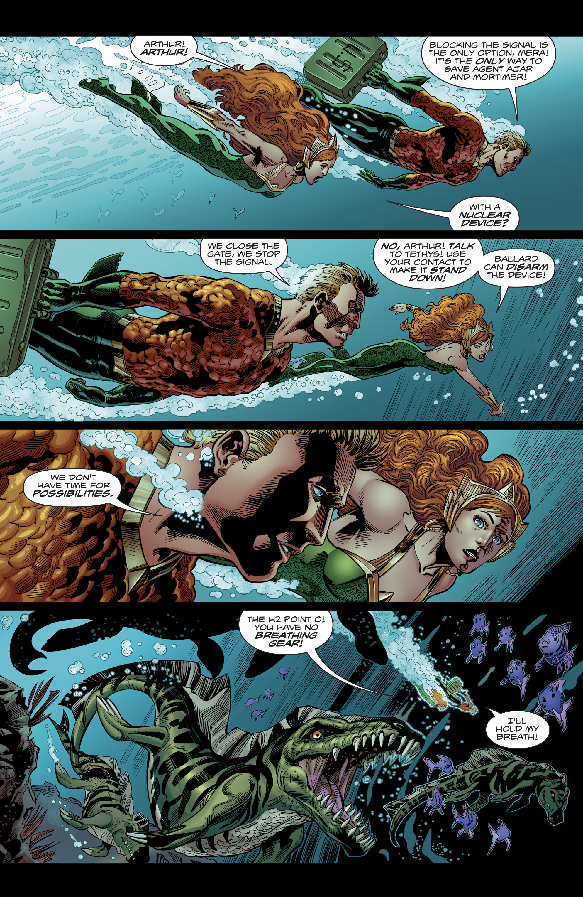 Read online Aquaman (2016) comic -  Issue #22 - 15