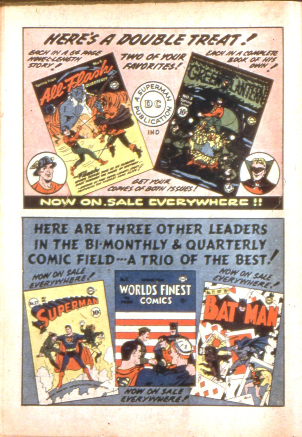 Read online Sensation (Mystery) Comics comic -  Issue #7 - 66