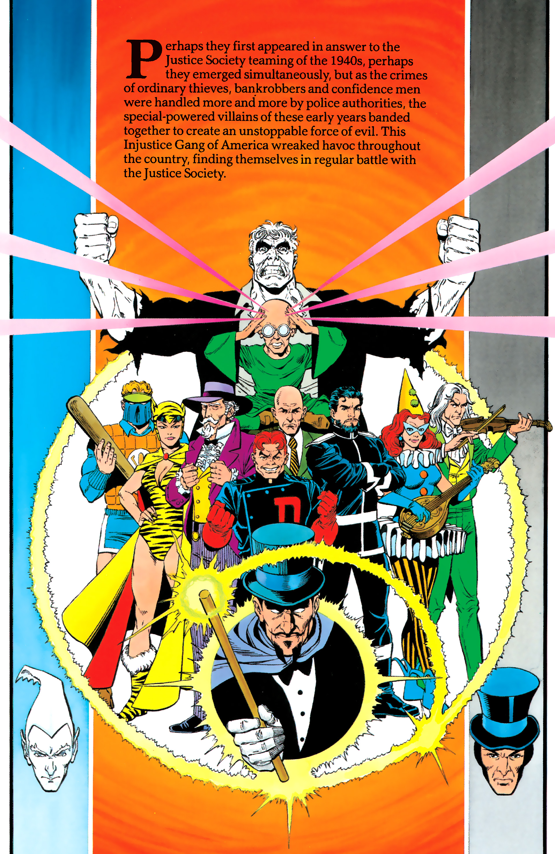 Read online History of the DC Universe comic -  Issue #1 - 39