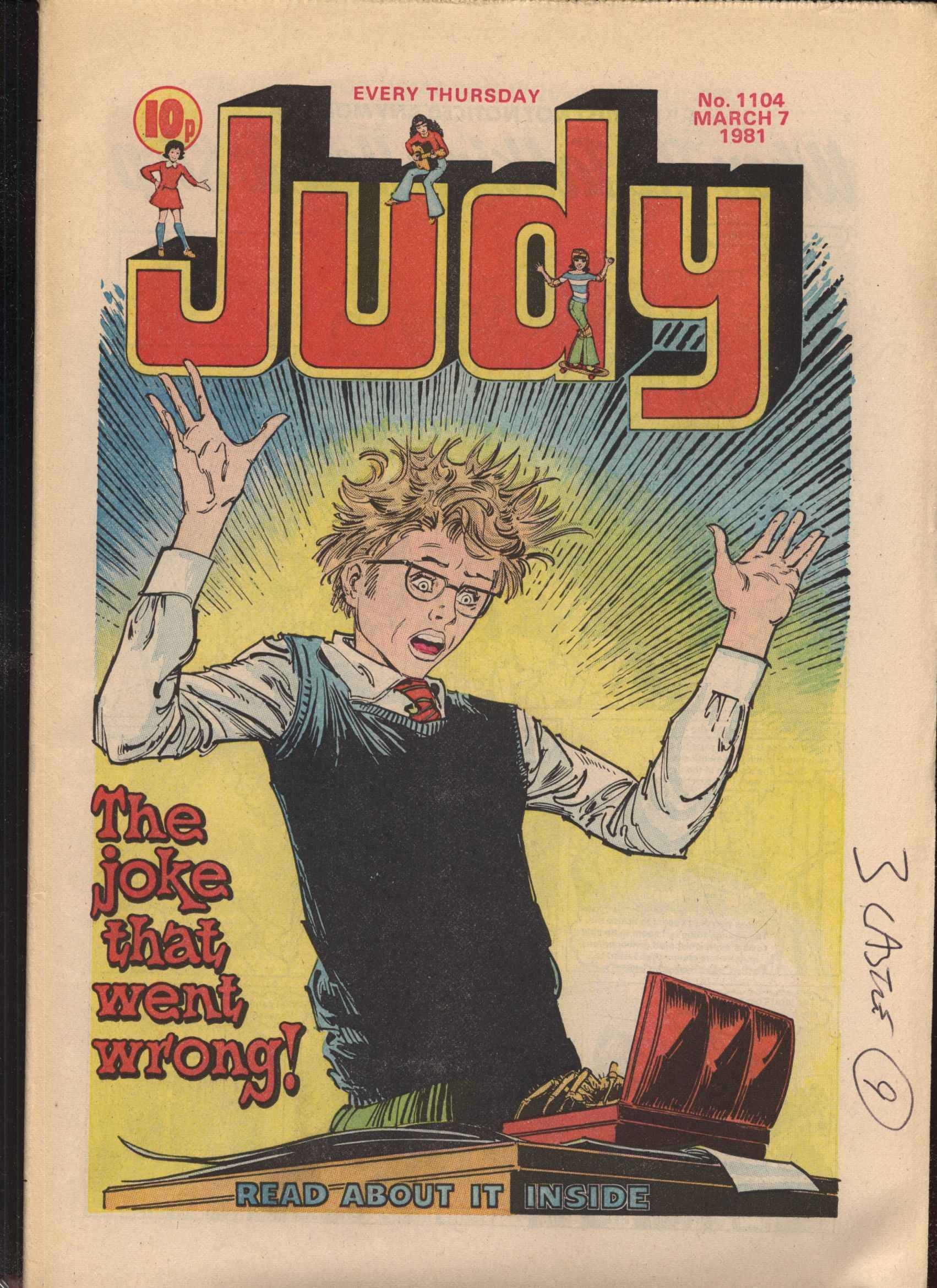 Read online Judy comic -  Issue #4 - 1