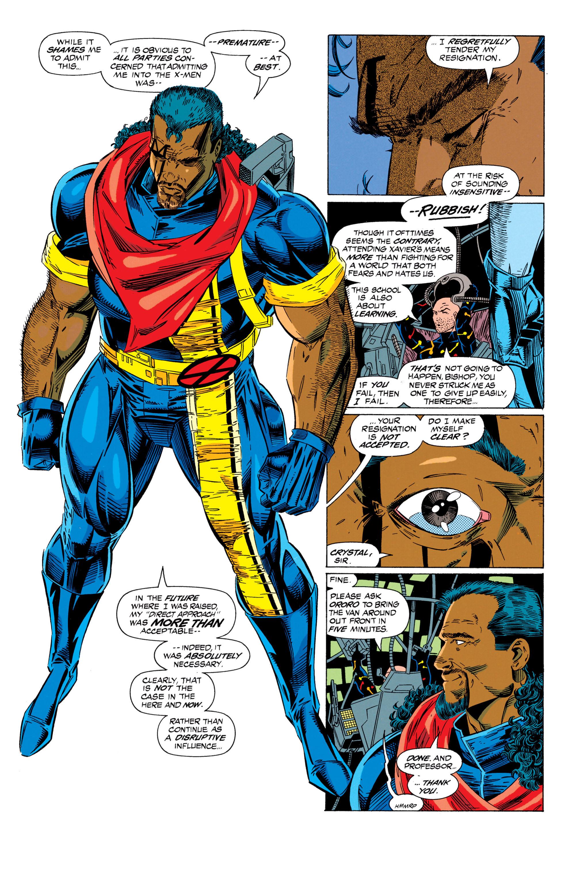 Read online Uncanny X-Men (1963) comic -  Issue #298 - 4