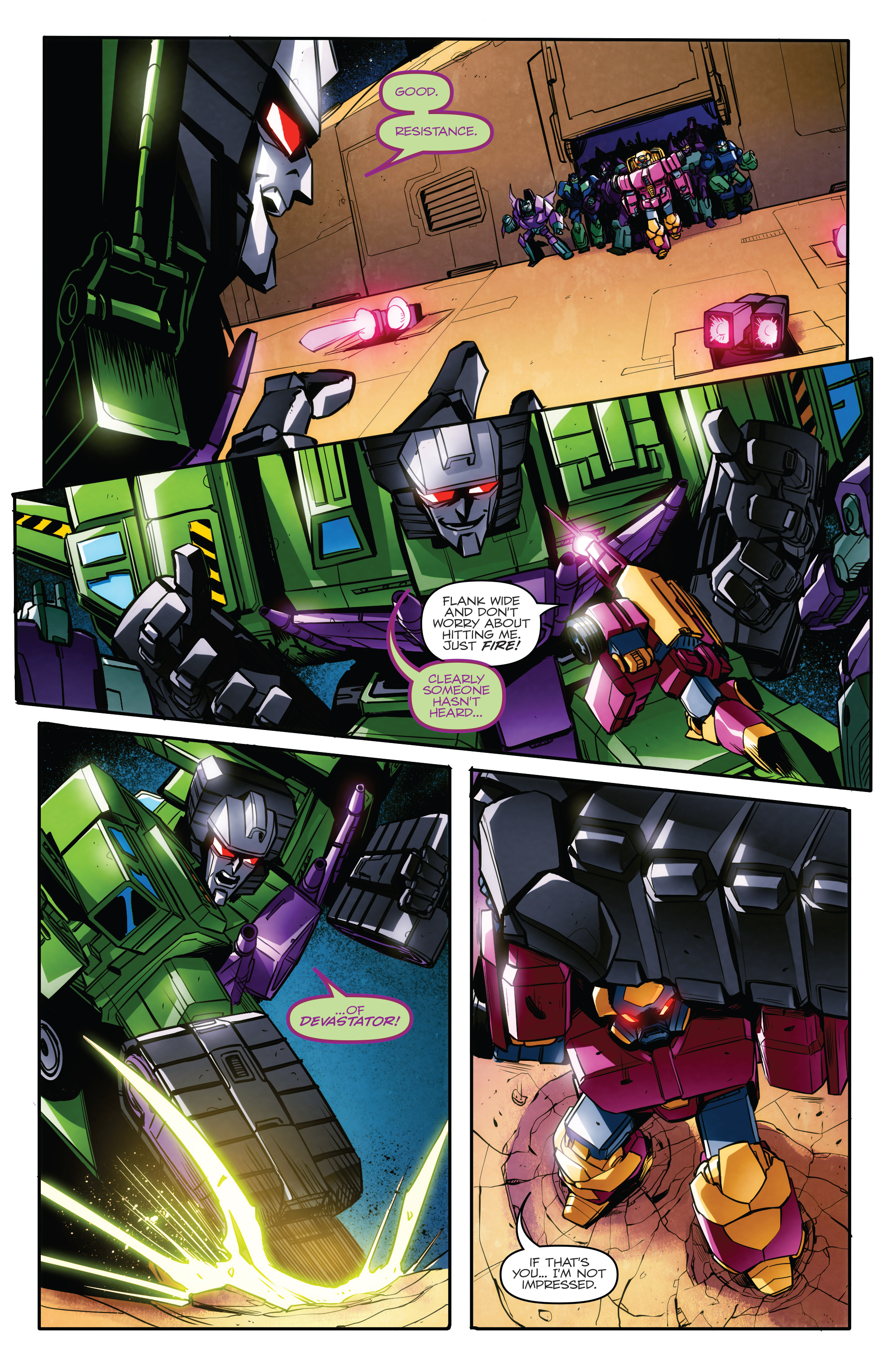 Read online Transformers: Till All Are One comic -  Issue #7 - 9