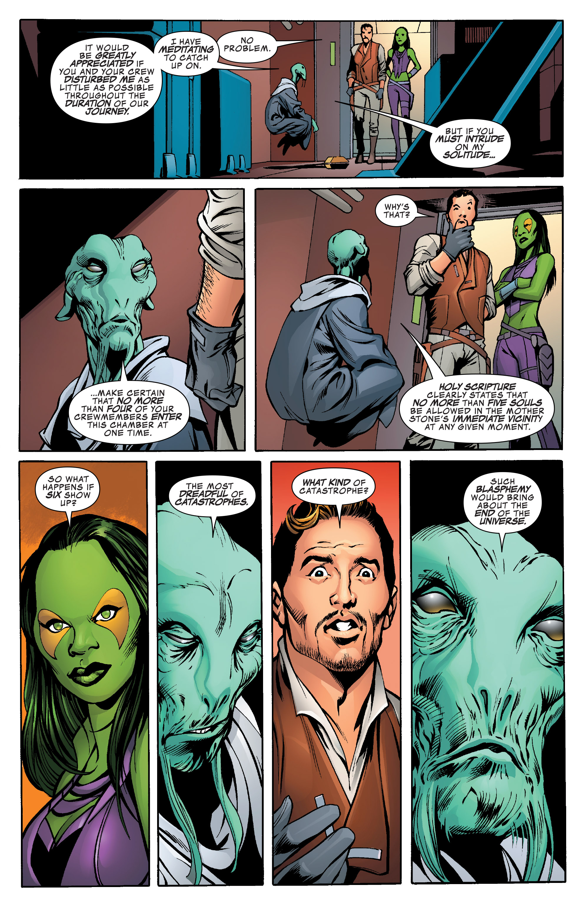 Read online Guardians of the Galaxy: Mother Entropy comic -  Issue #1 - 16