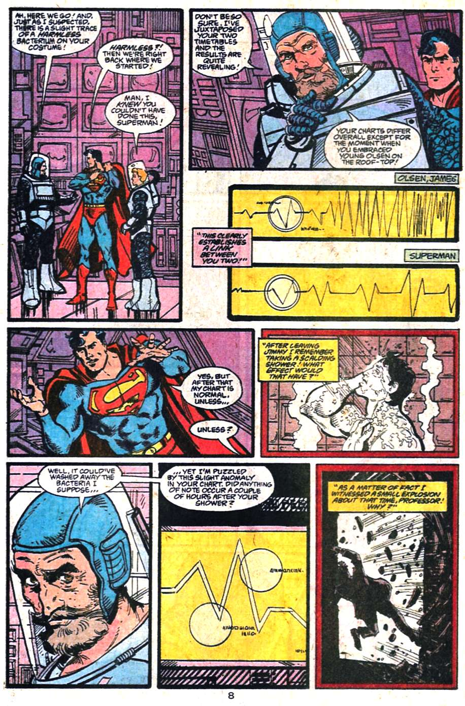 Read online Adventures of Superman (1987) comic -  Issue #459 - 9