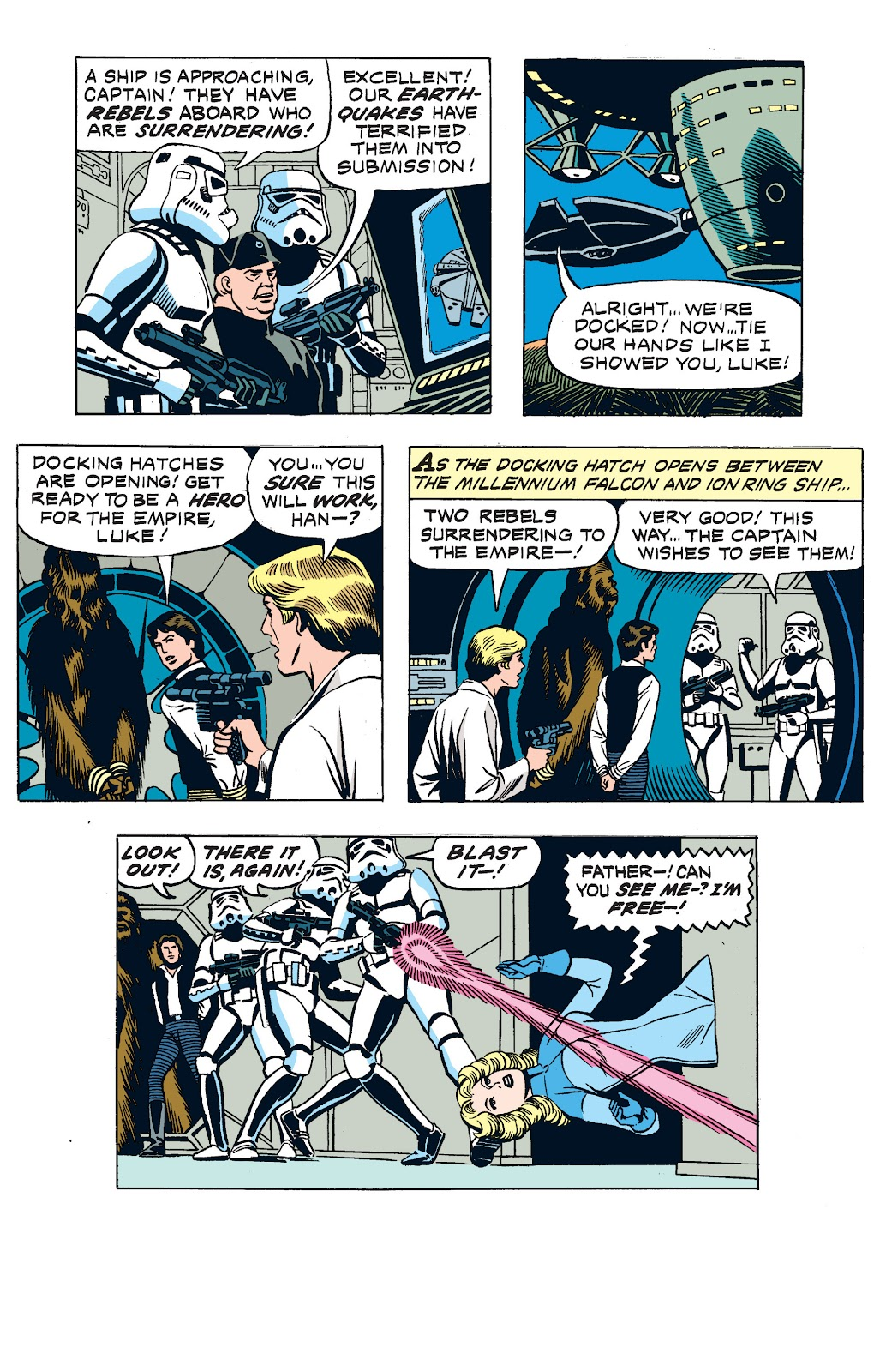 Read online Star Wars Legends: The Newspaper Strips - Epic Collection comic -  Issue # TPB (Part 2) - 94