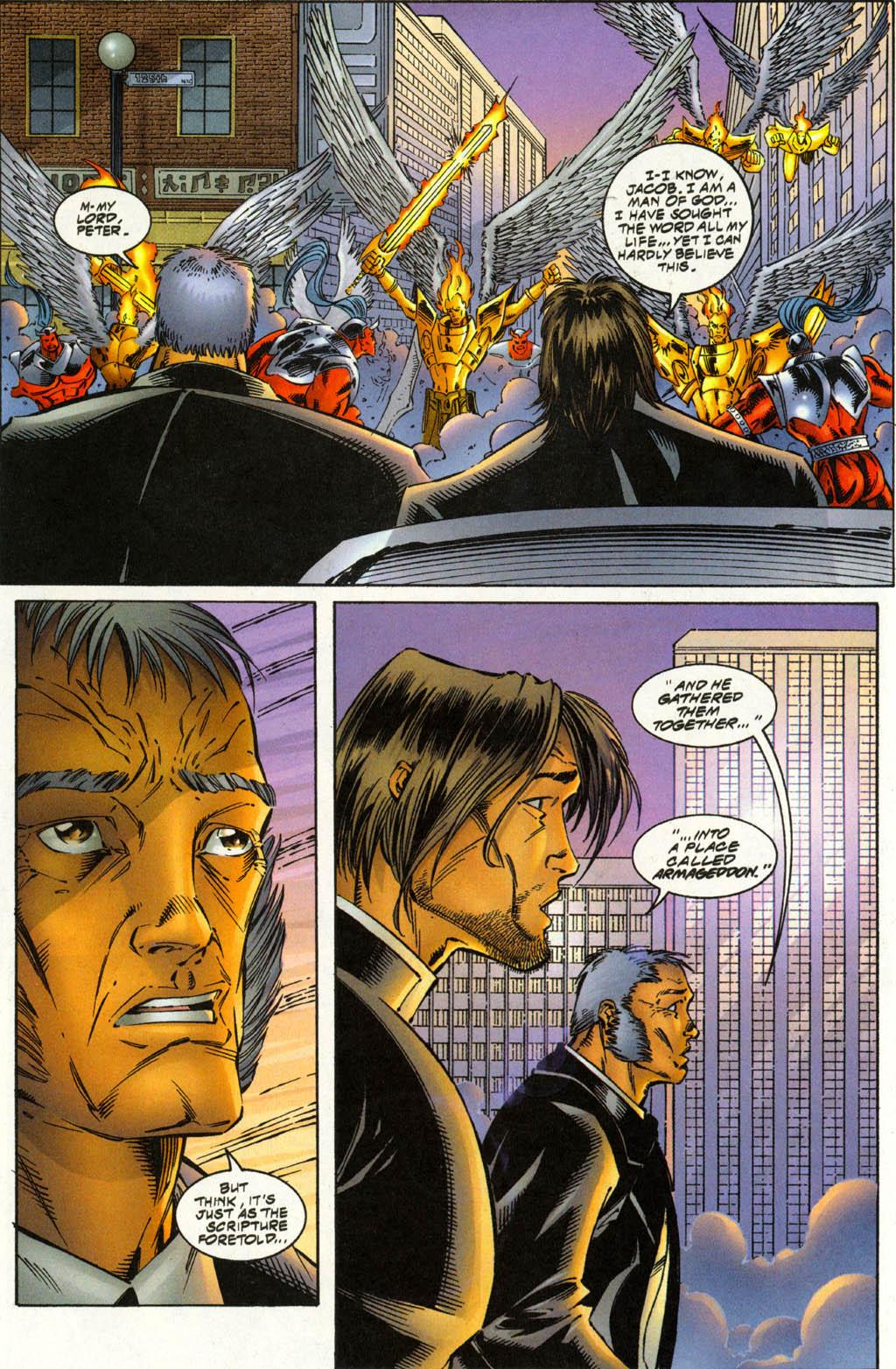 Read online Avengelyne (1996) comic -  Issue #3 - 16