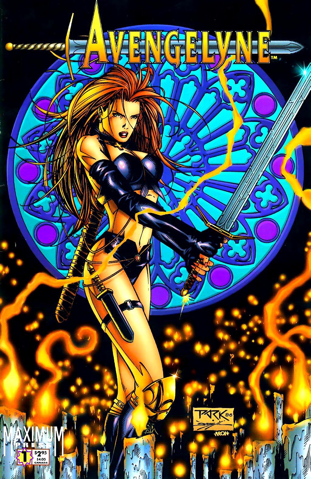 Read online Avengelyne (1996) comic -  Issue #1 - 1