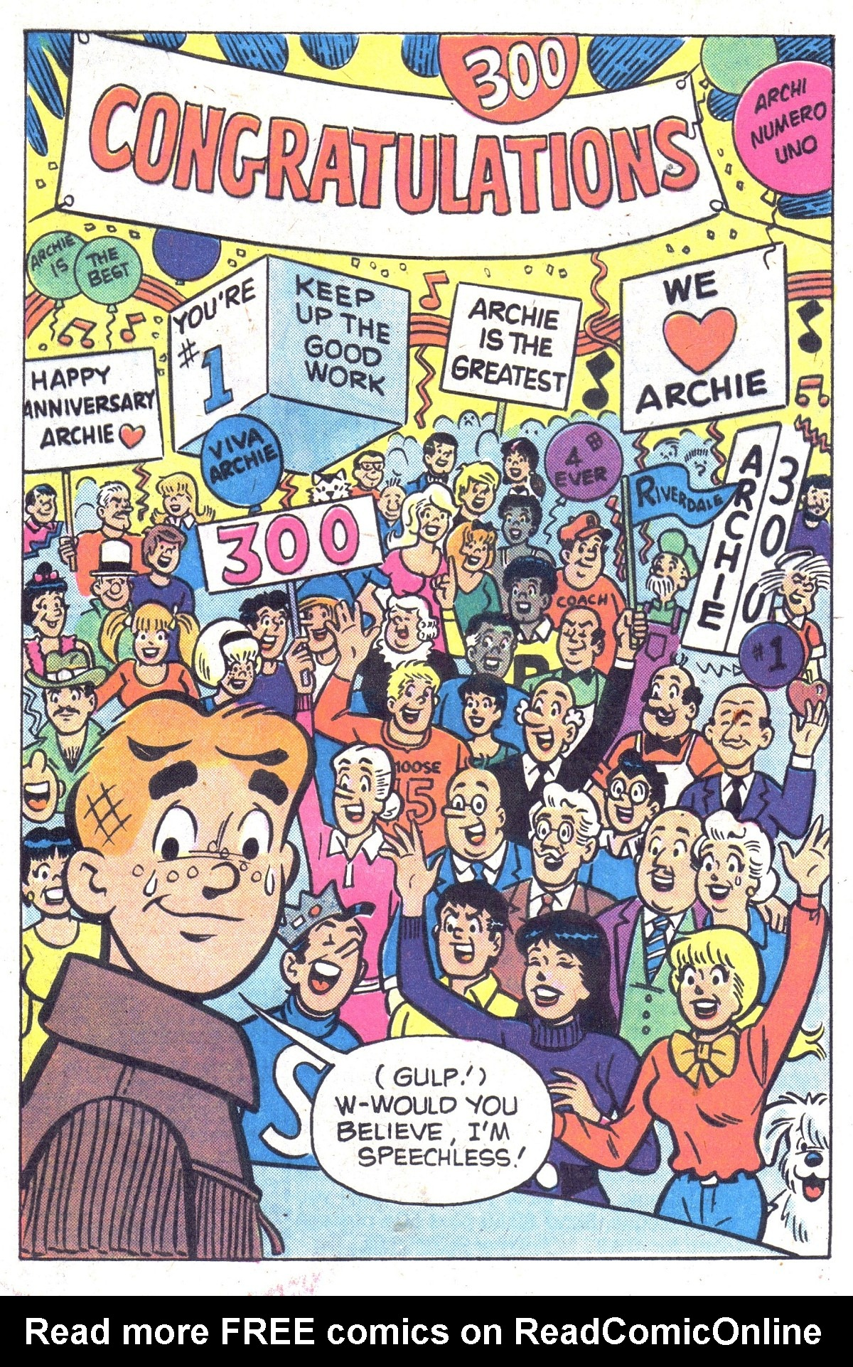 Read online Archie (1960) comic -  Issue #300 - 33
