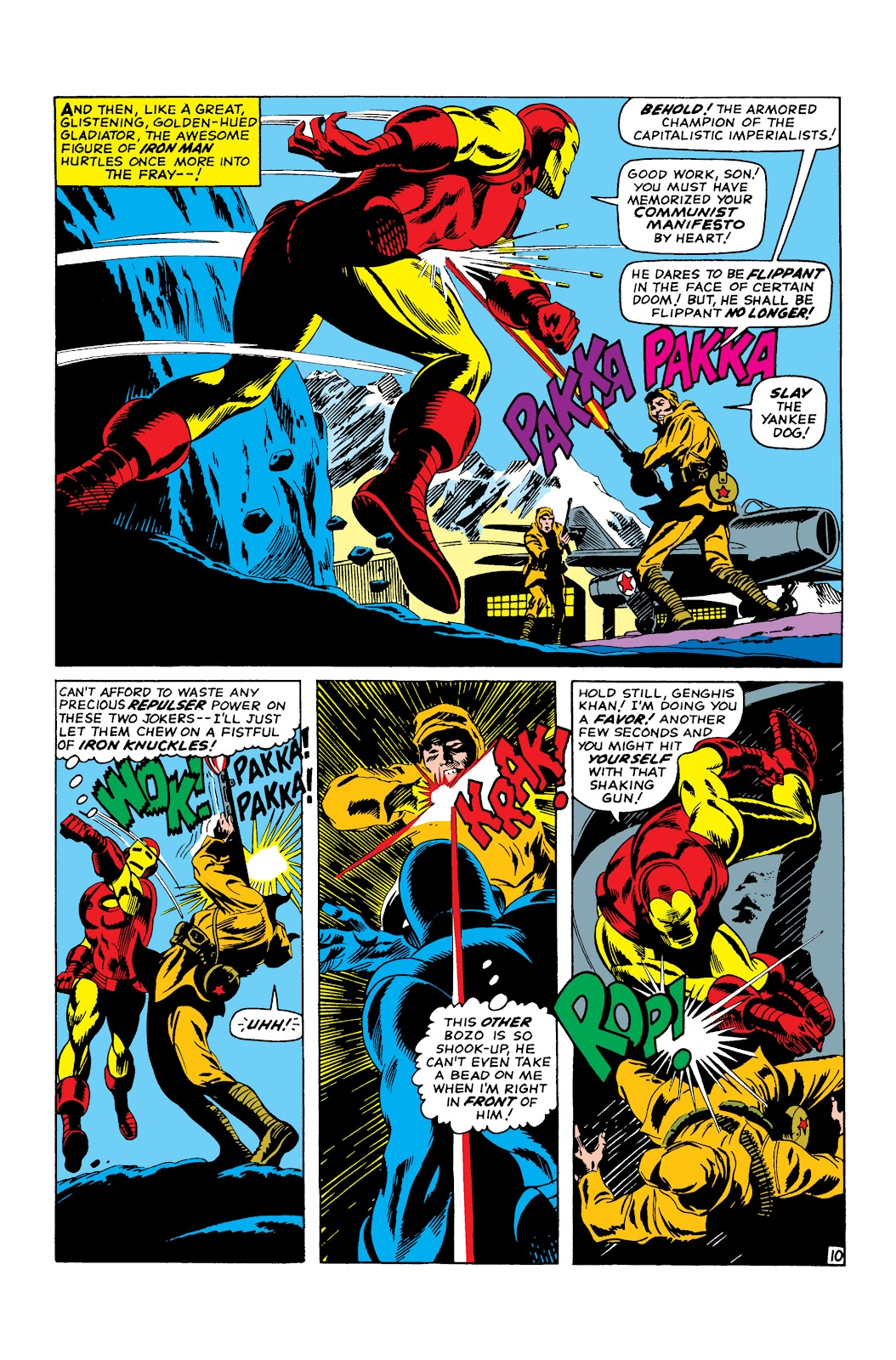 Read online Marvel Masterworks: The Invincible Iron Man comic -  Issue # TPB 3 (Part 3) - 89