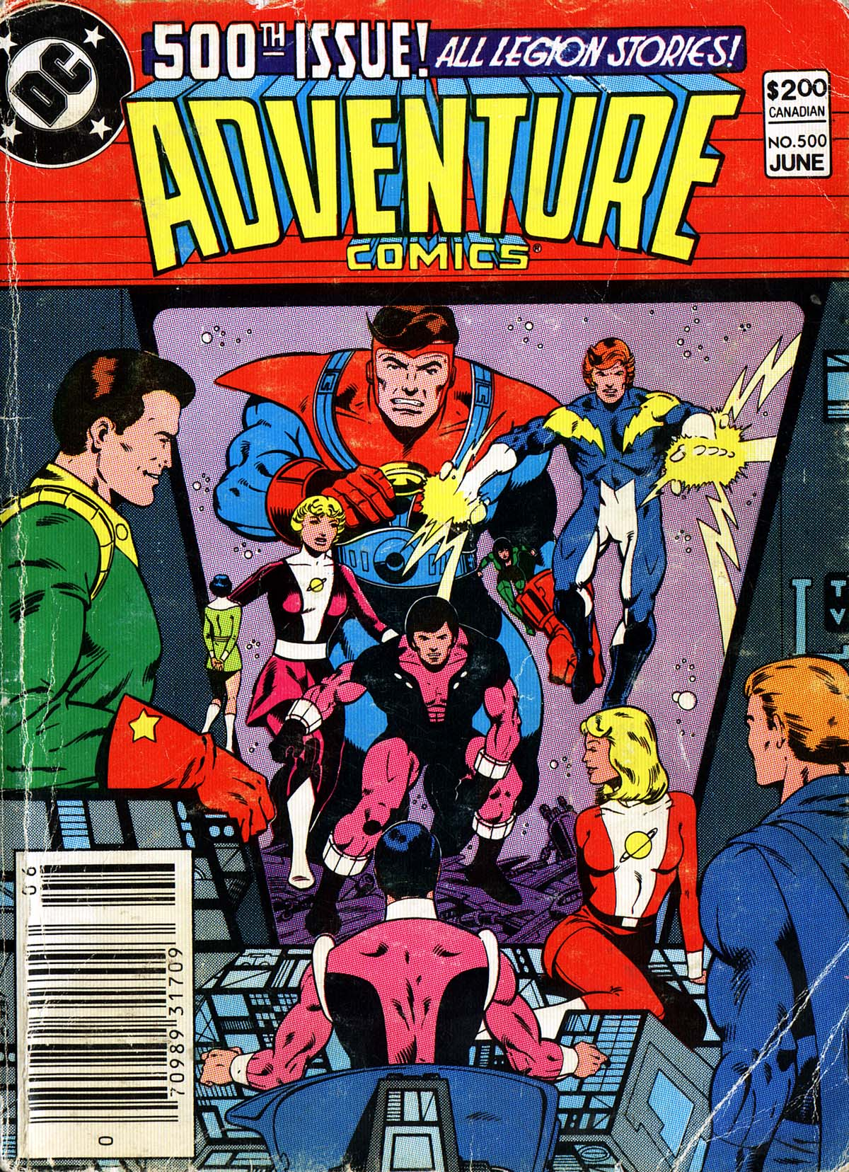 Read online Adventure Comics (1938) comic -  Issue #500 - 1