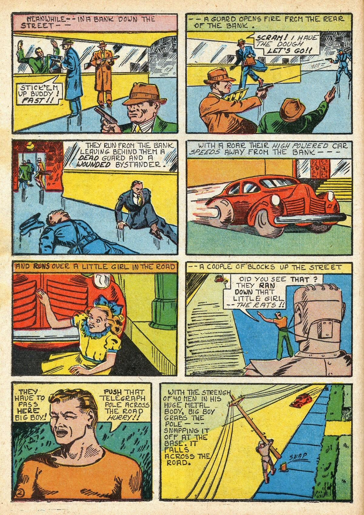 Read online Amazing Man Comics comic -  Issue #16 - 24