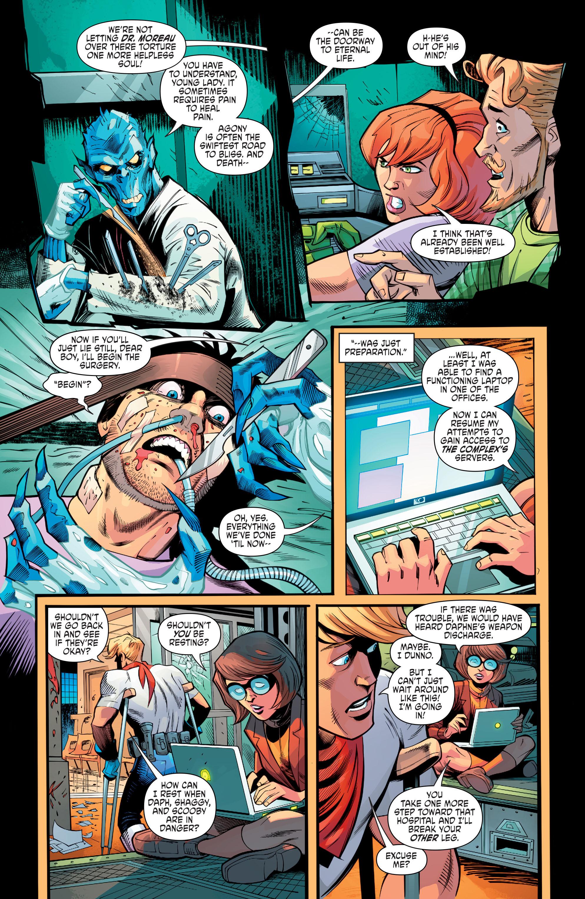 Read online Scooby Apocalypse comic -  Issue #8 - 17