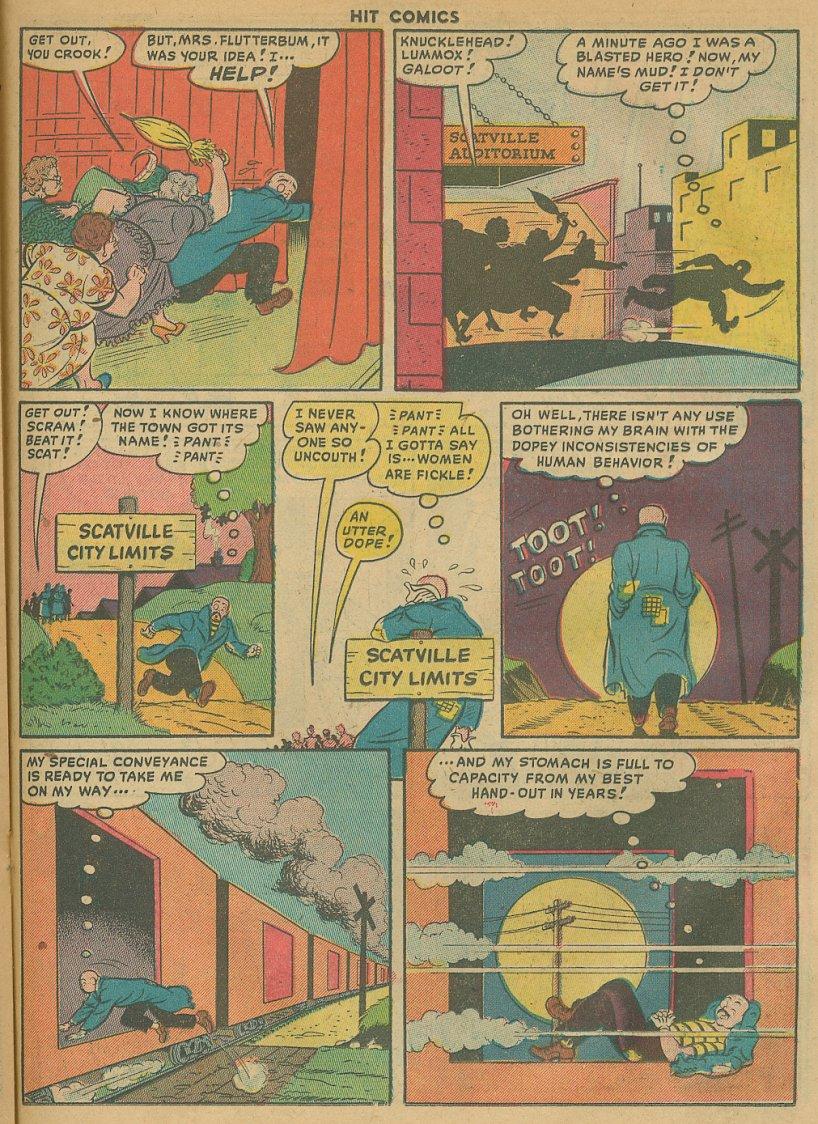 Read online Hit Comics comic -  Issue #61 - 21