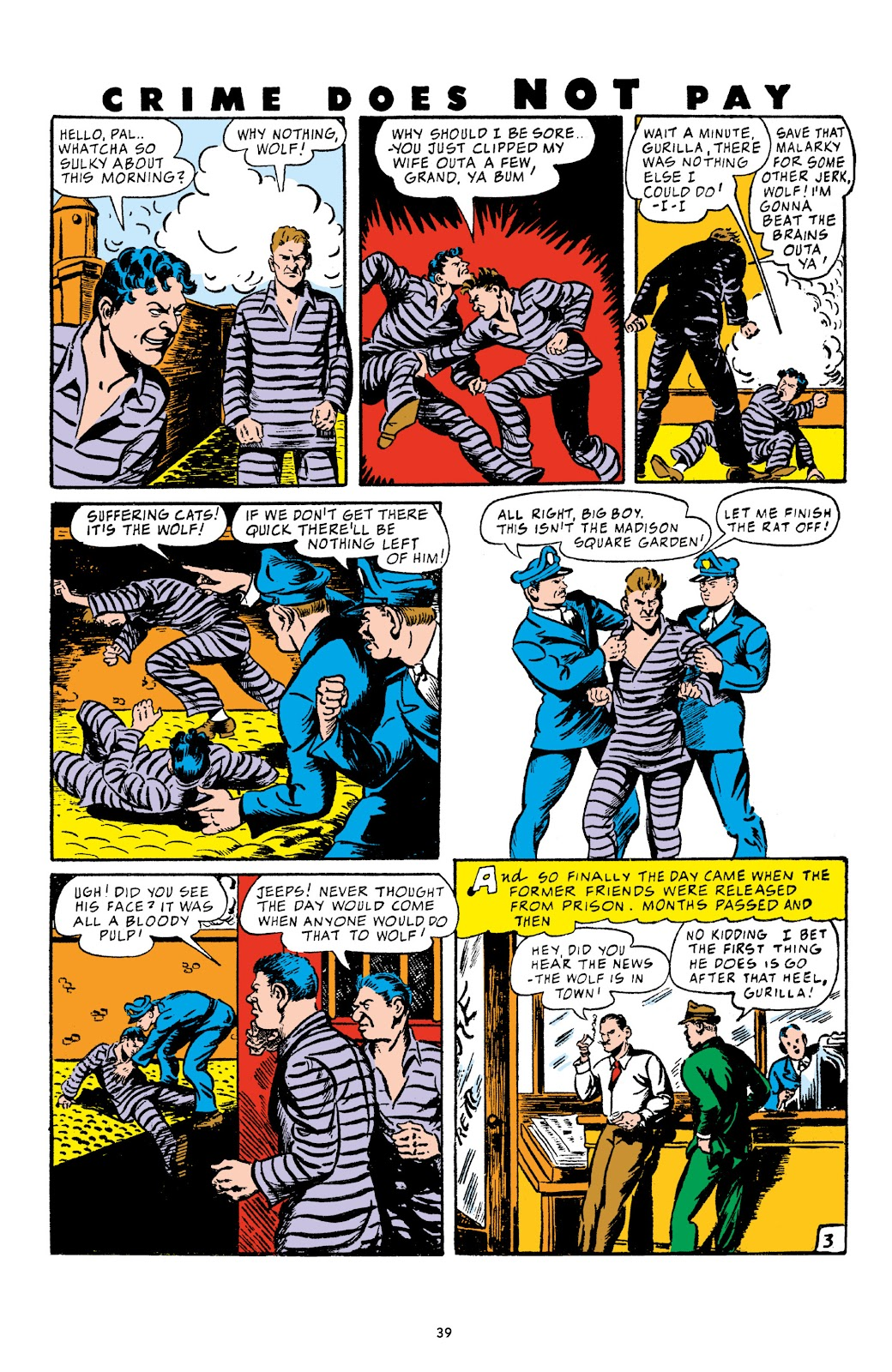 Read online Crime Does Not Pay Archives comic -  Issue # TPB 4 (Part 1) - 39