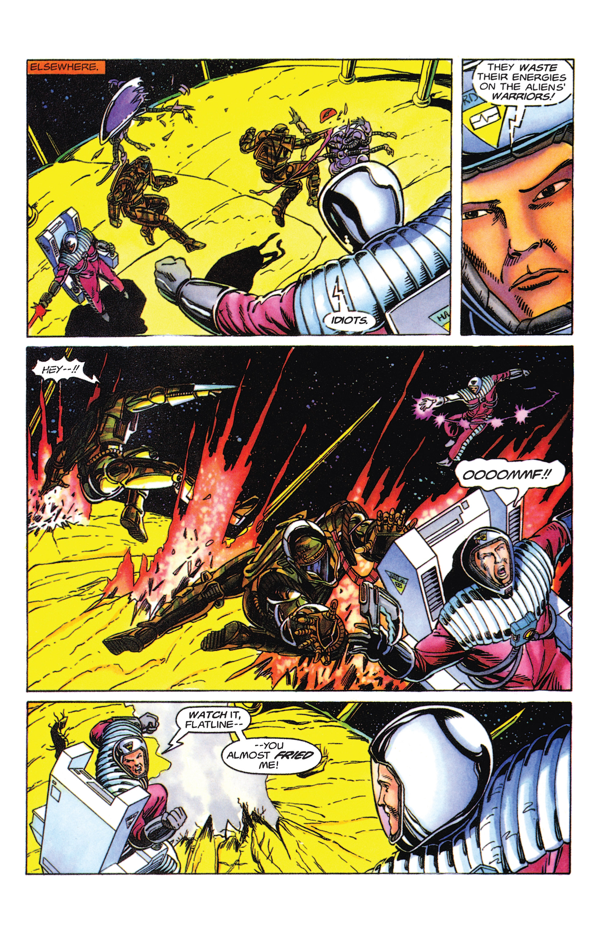 Read online Armorines comic -  Issue #5 - 20