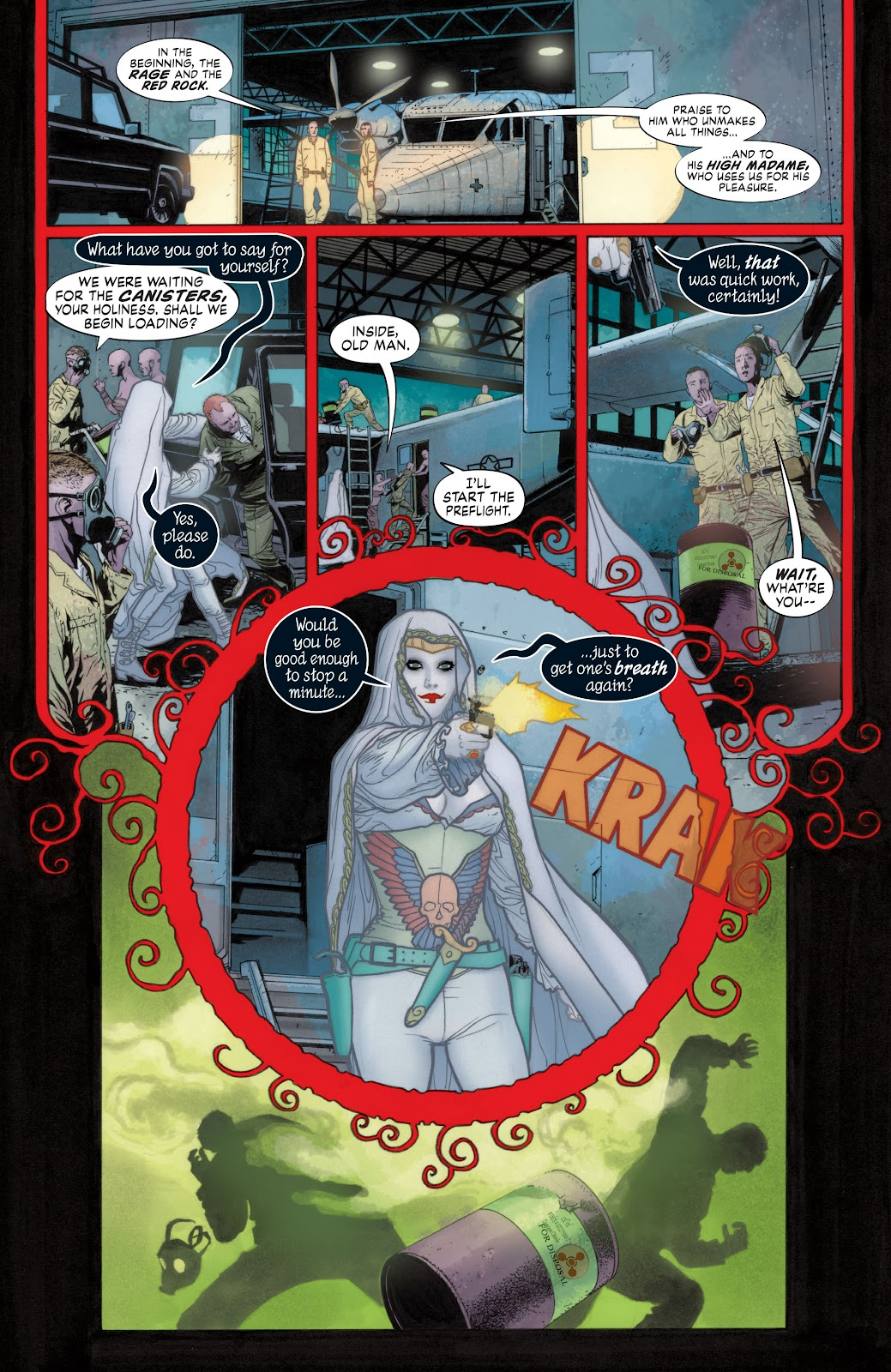 Read online Detective Comics (1937) comic -  Issue # _TPB Batwoman - Elegy (Part 1) - 70