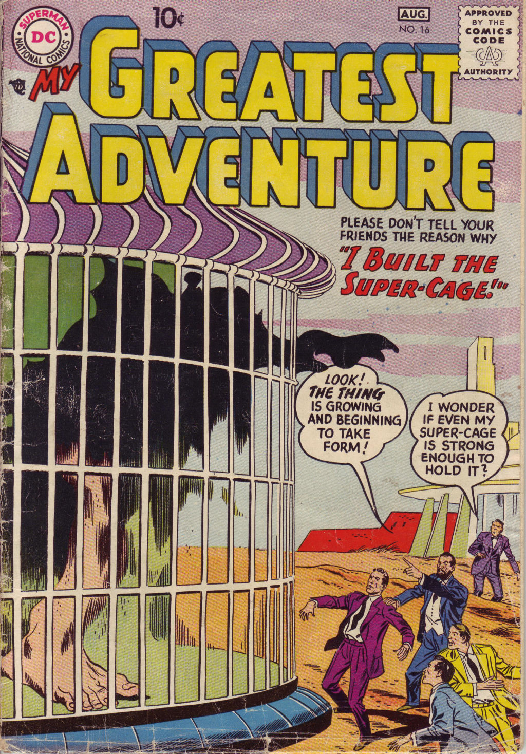 My Greatest Adventure (1955) issue 16 - Page 1