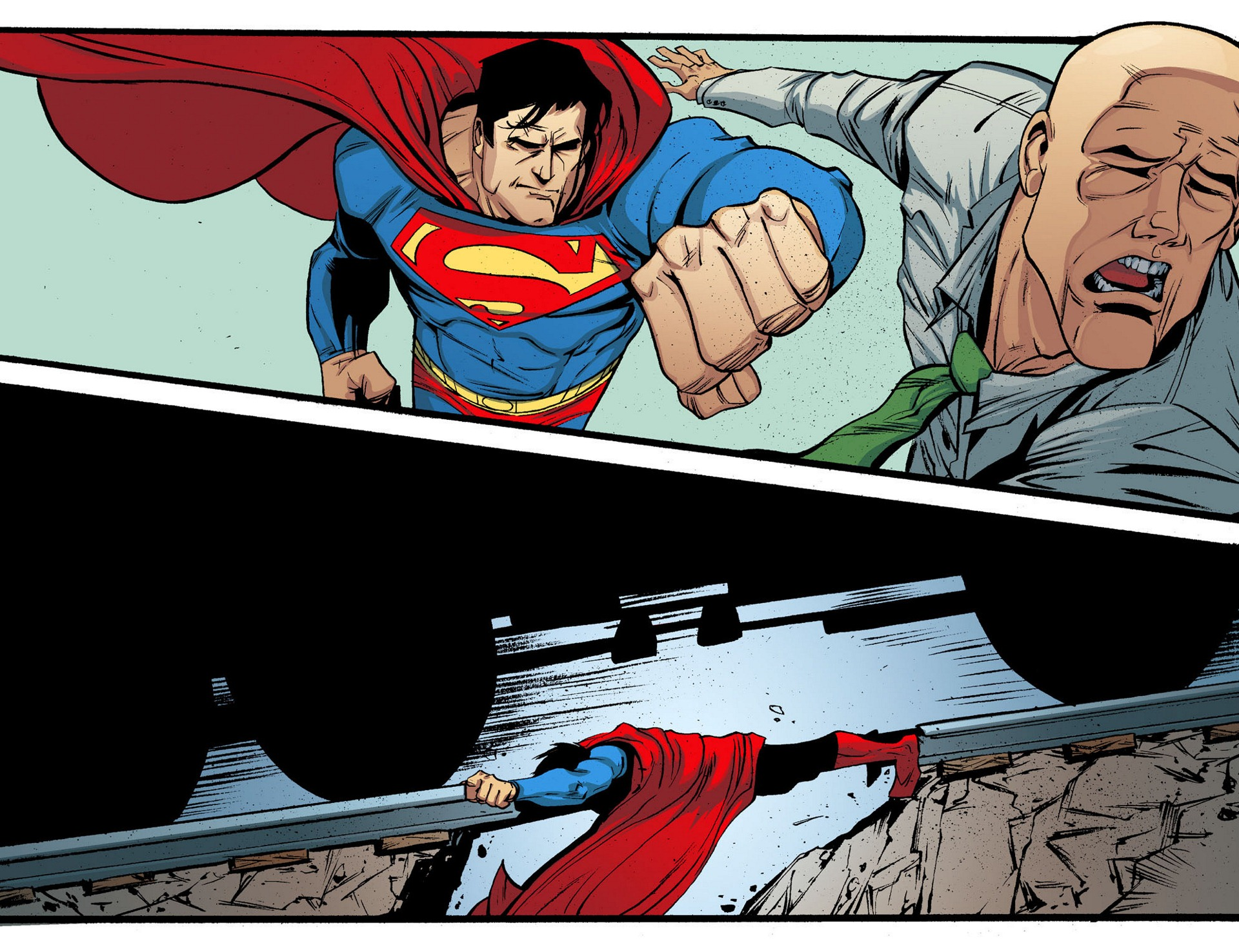 Read online Adventures of Superman [I] comic -  Issue #5 - 14