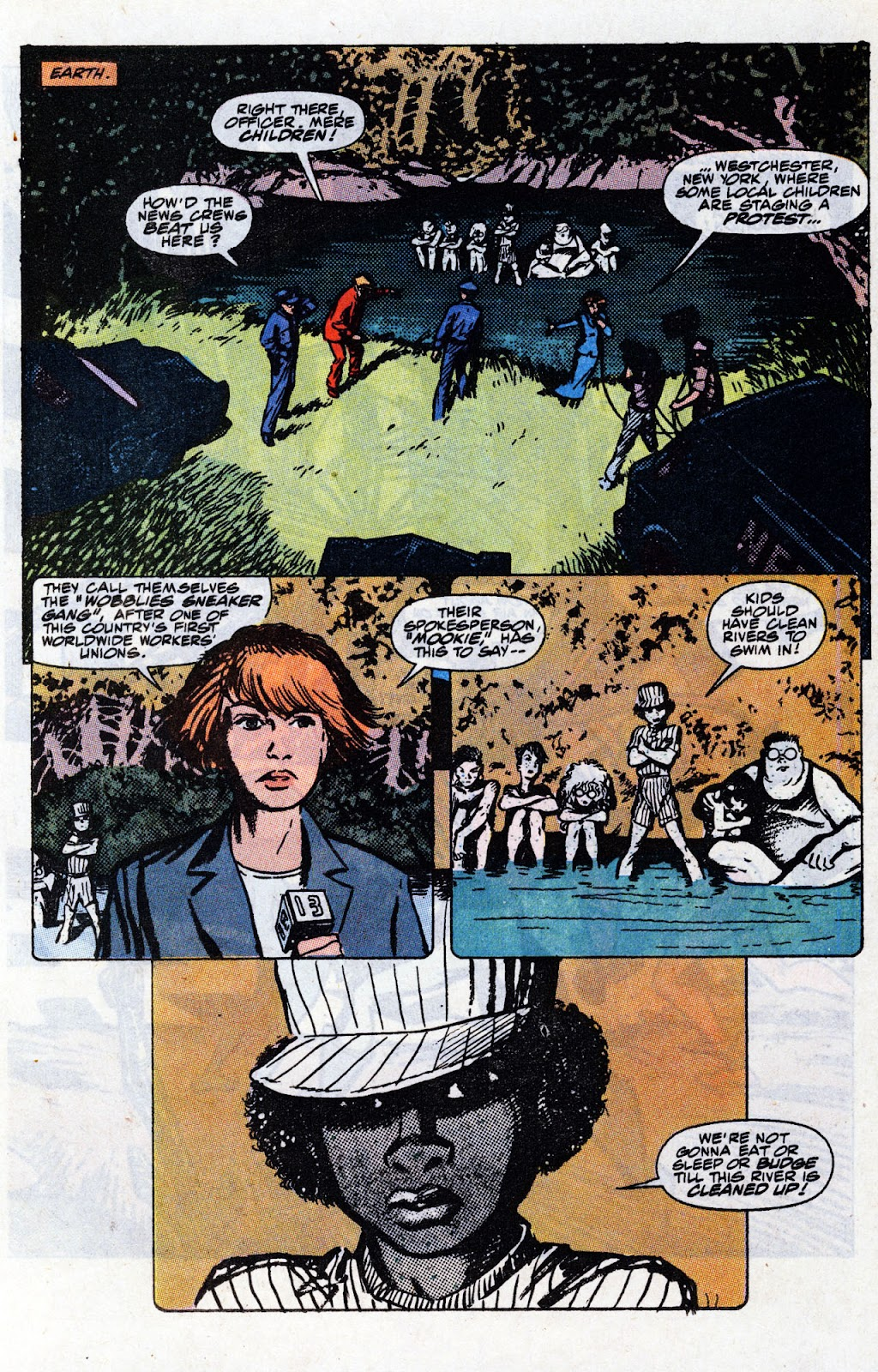 The New Mutants Summer Special issue Full - Page 46