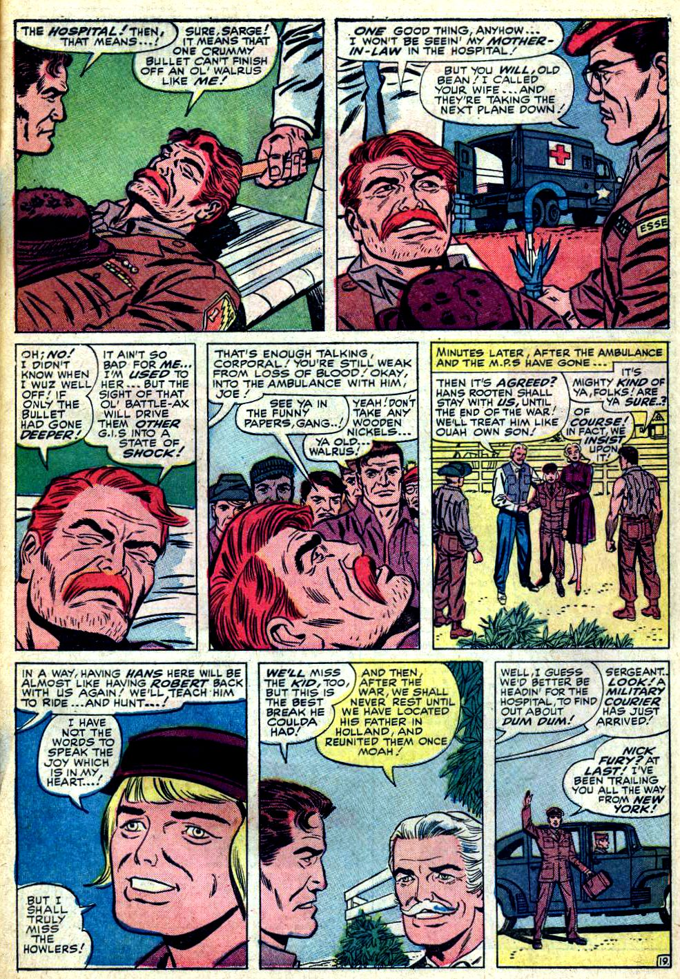 Read online Sgt. Fury comic -  Issue #24 - 27