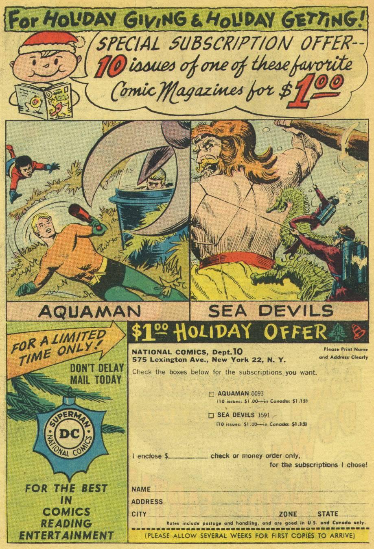 Read online Aquaman (1962) comic -  Issue #13 - 33