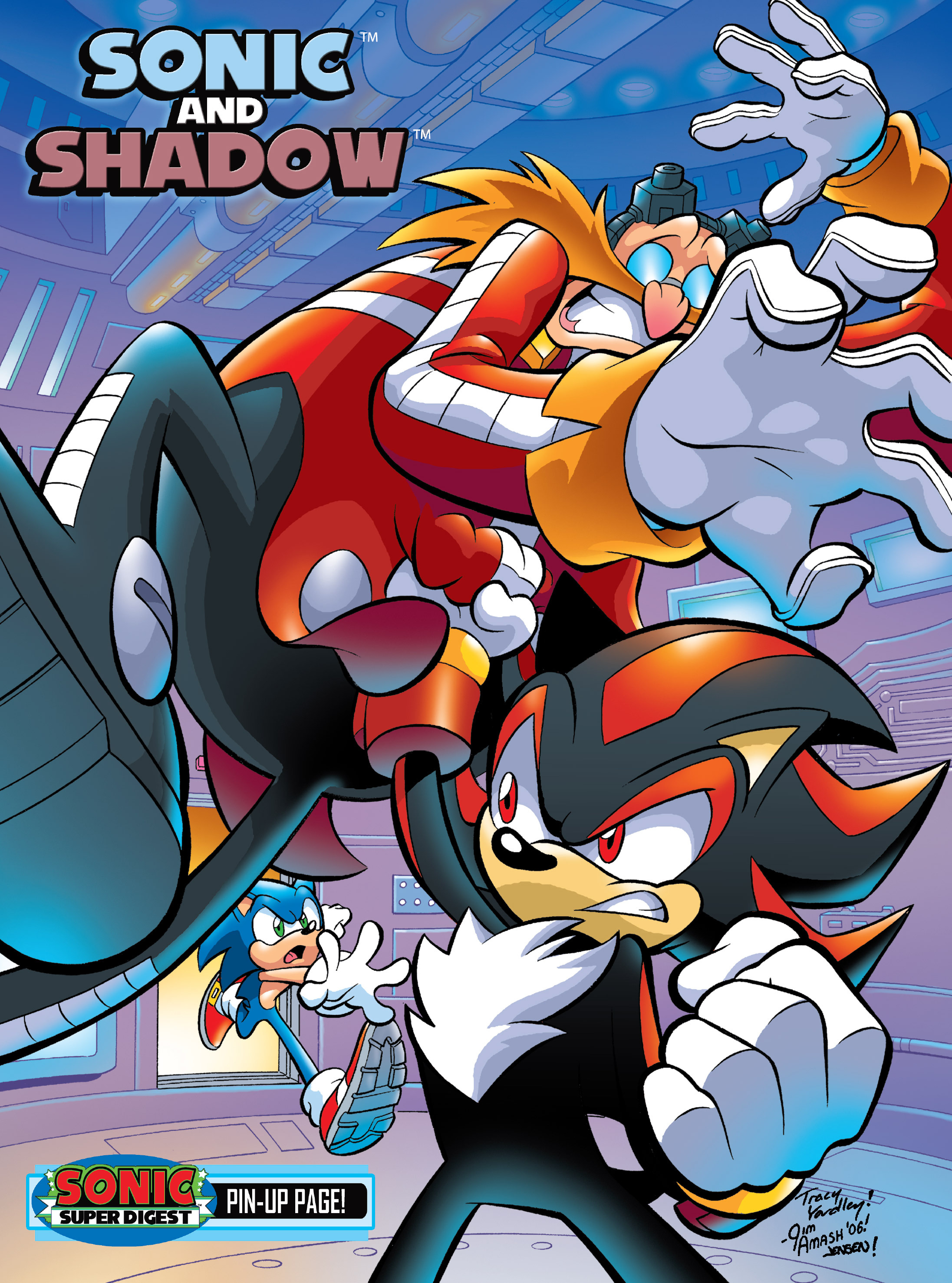 Read online Sonic Super Digest comic -  Issue #7 - 115