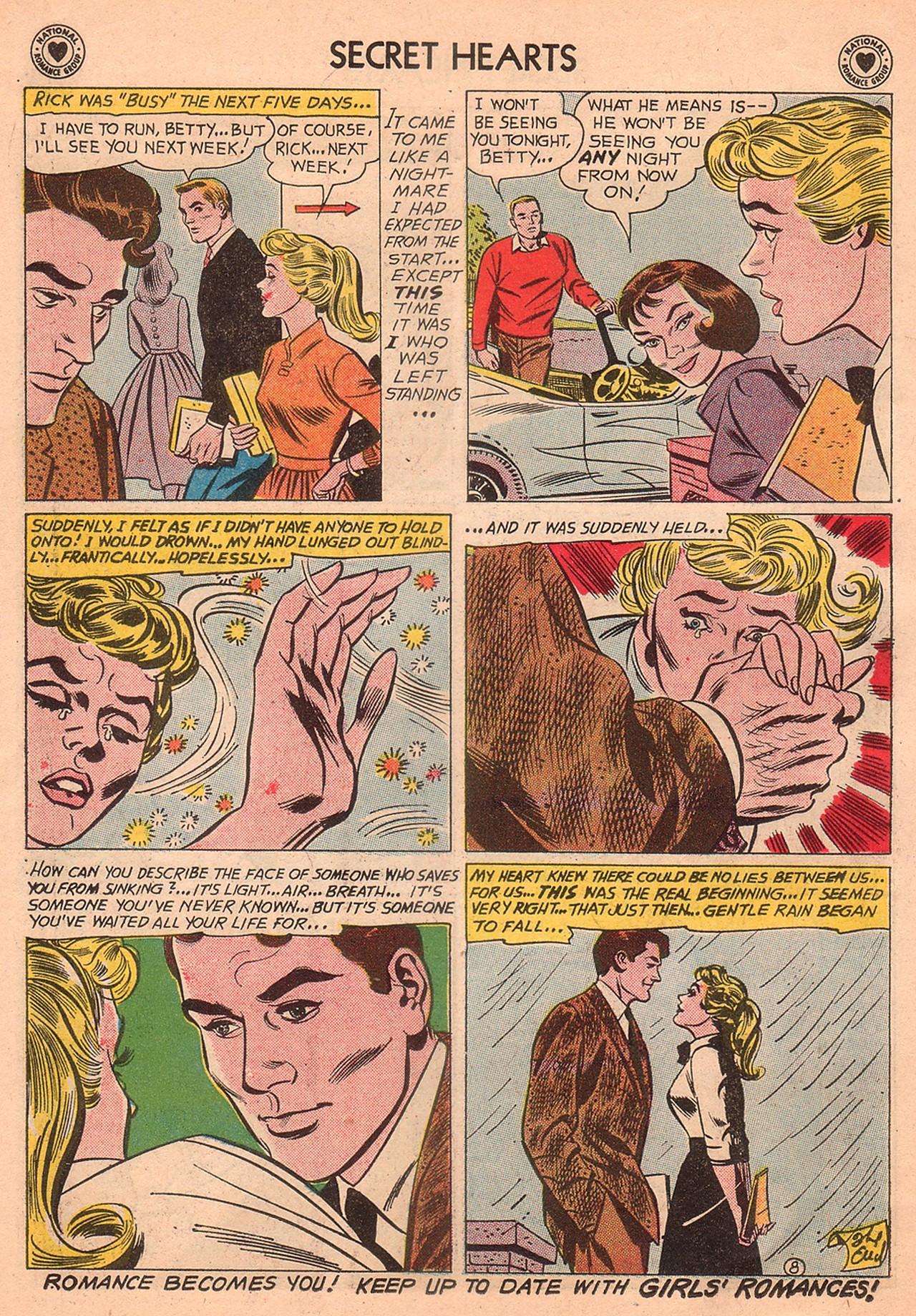 Read online Secret Hearts comic -  Issue #74 - 34