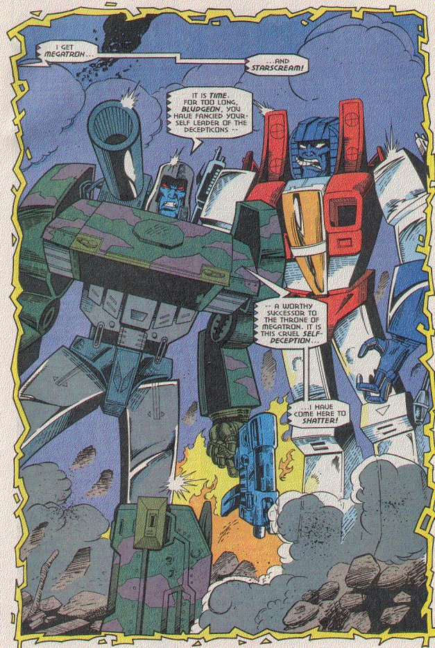 Read online Transformers: Generation 2 comic -  Issue #5 - 19