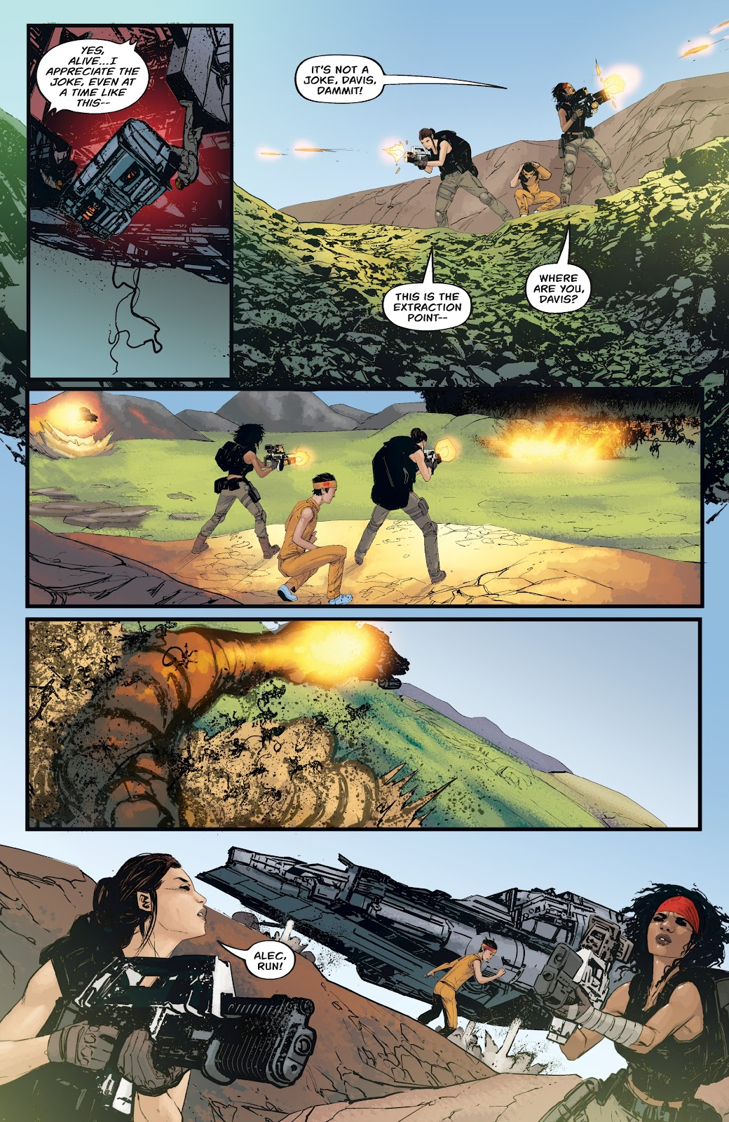 Read online Aliens: Resistance comic -  Issue #4 - 16