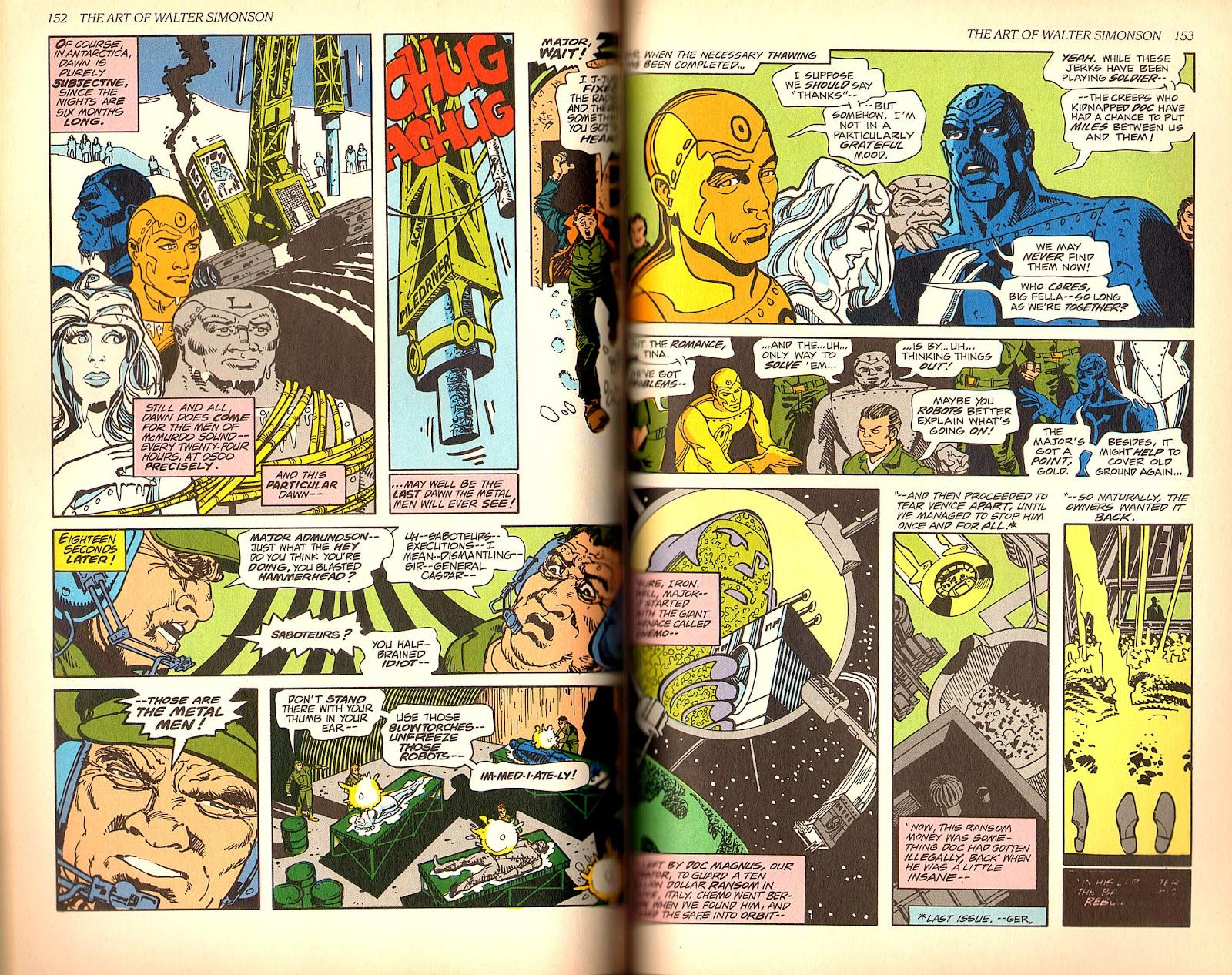 Read online The Art of Walter Simonson comic -  Issue # TPB - 78