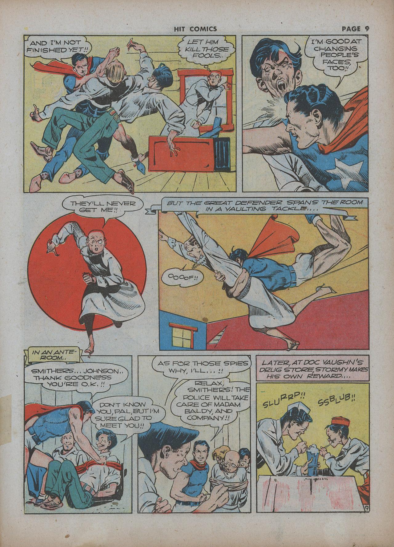 Read online Hit Comics comic -  Issue #22 - 11