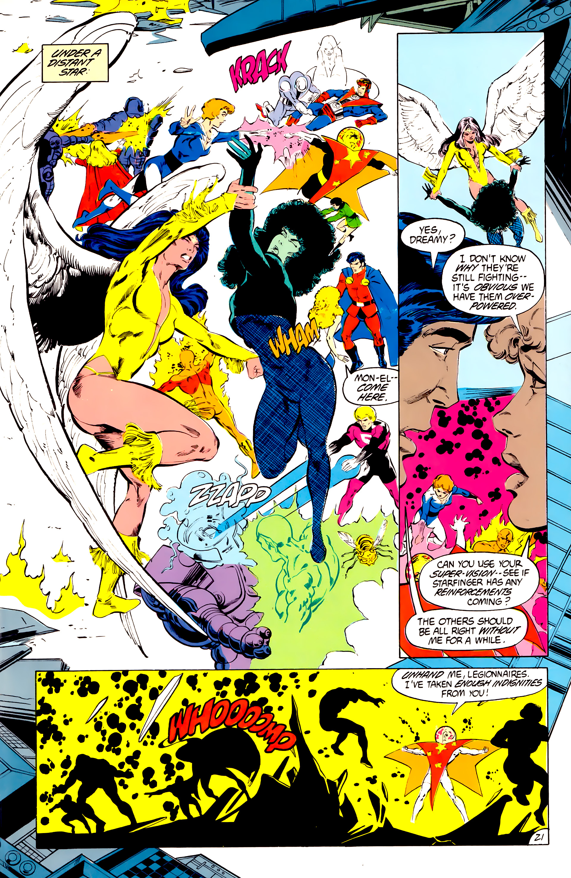 Legion of Super-Heroes (1984) 41 Page 21