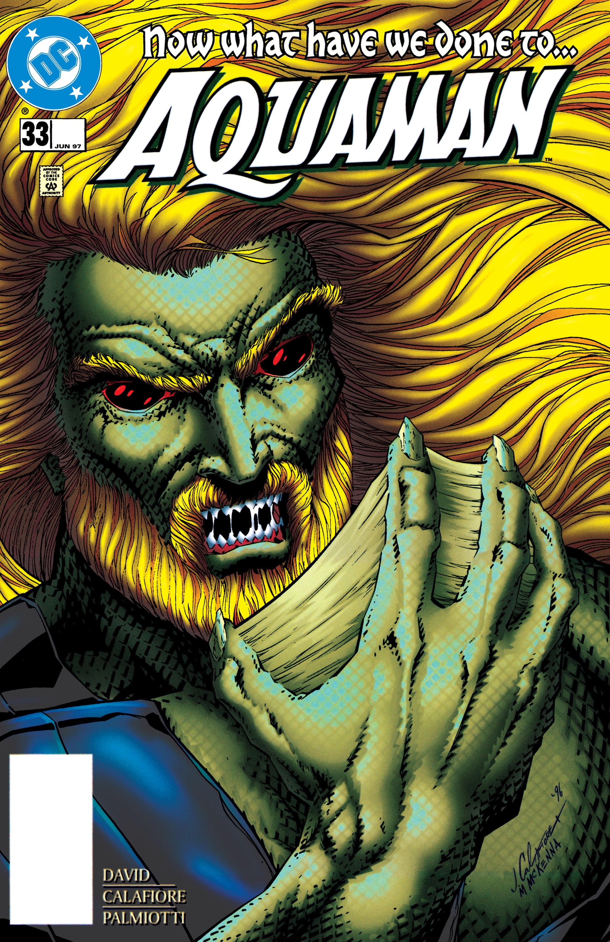 Read online Aquaman (1994) comic -  Issue #33 - 1
