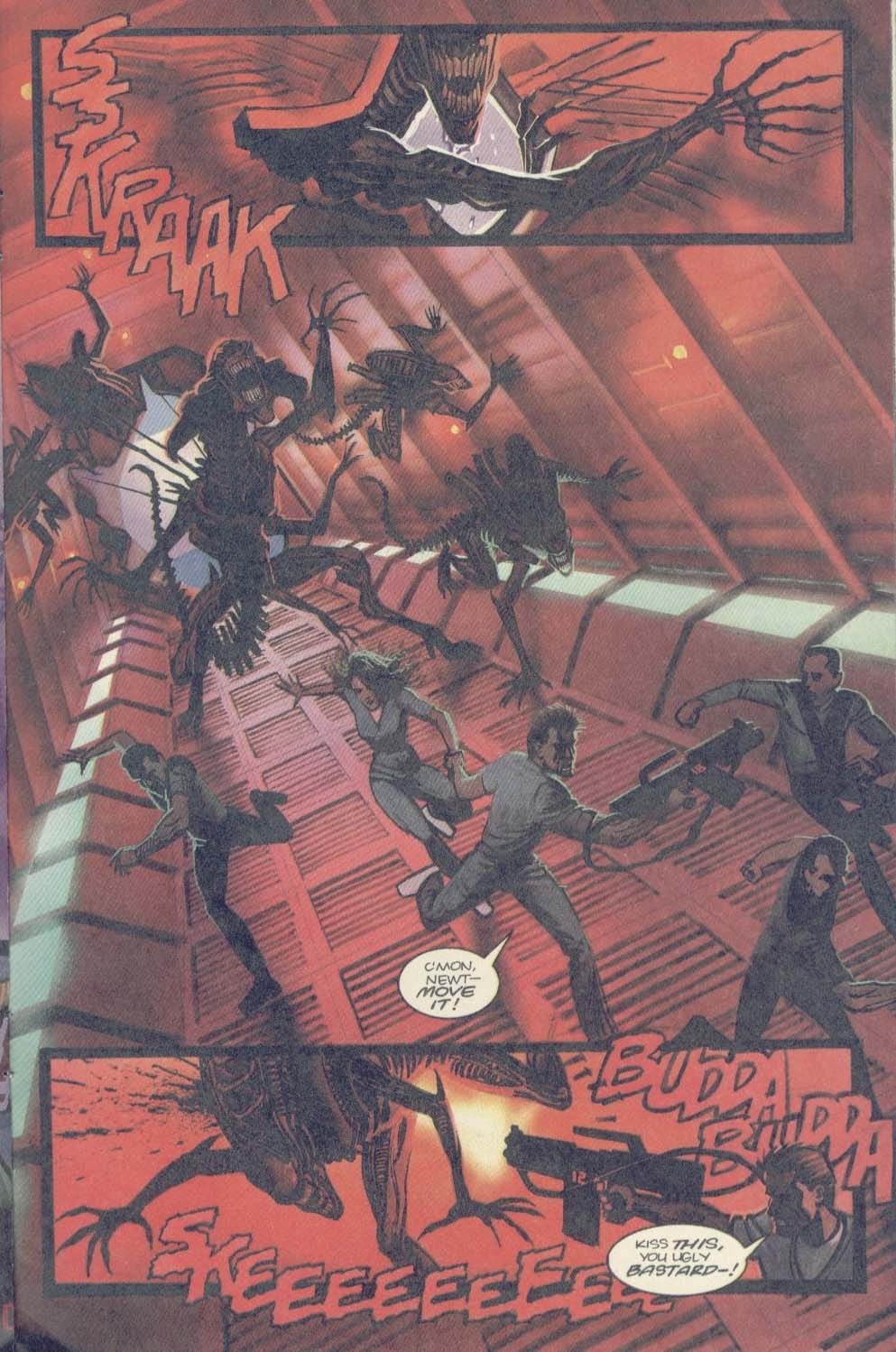 Read online Aliens (1989) comic -  Issue #3 - 22