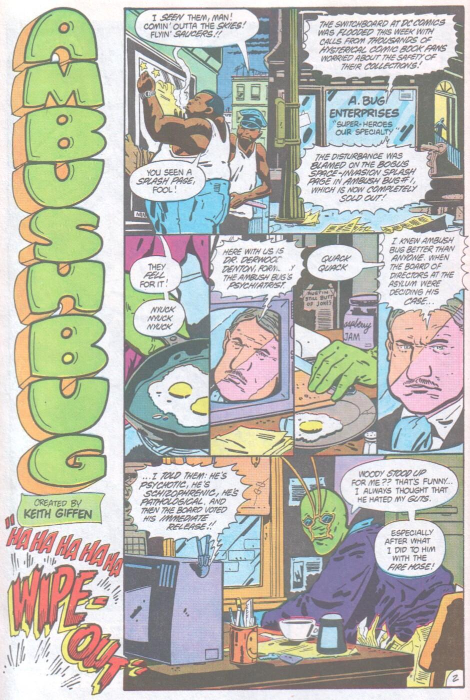 Read online Ambush Bug comic -  Issue #1 - 3